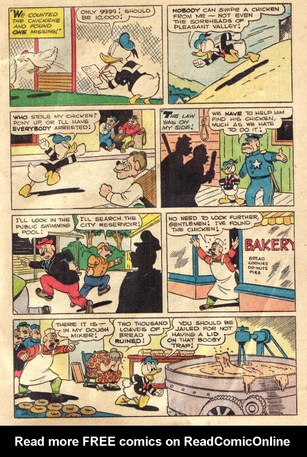 Walt Disney's Comics and Stories issue 146 - Page 9