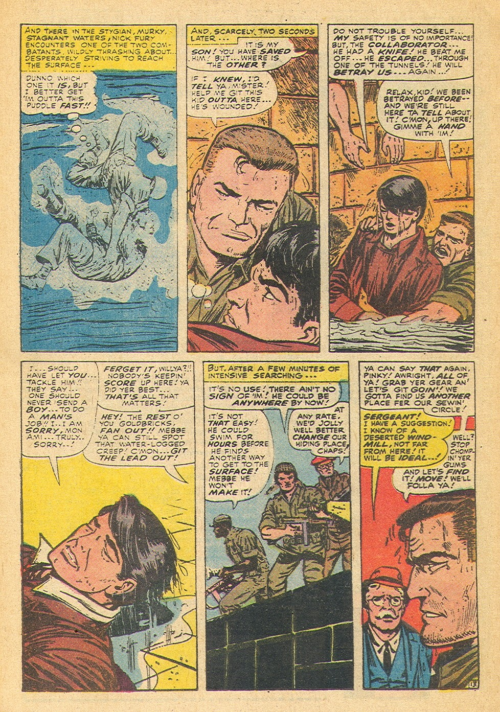 Read online Sgt. Fury comic -  Issue #91 - 20