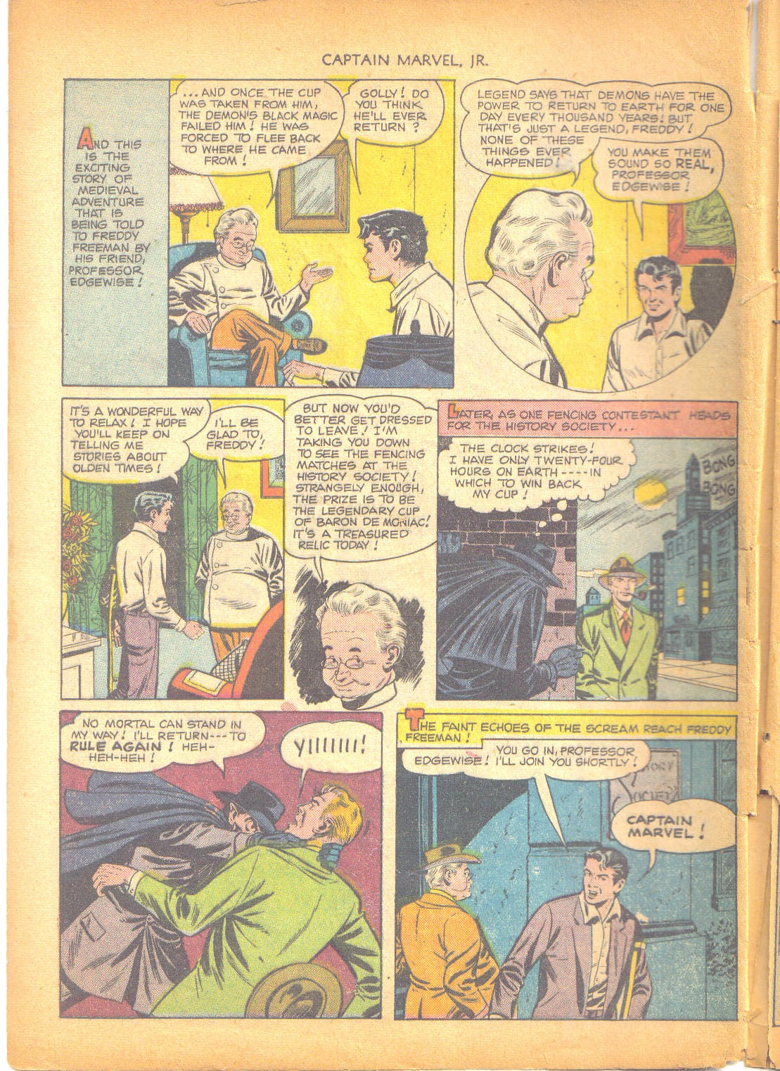 Captain Marvel, Jr. issue 95 - Page 43