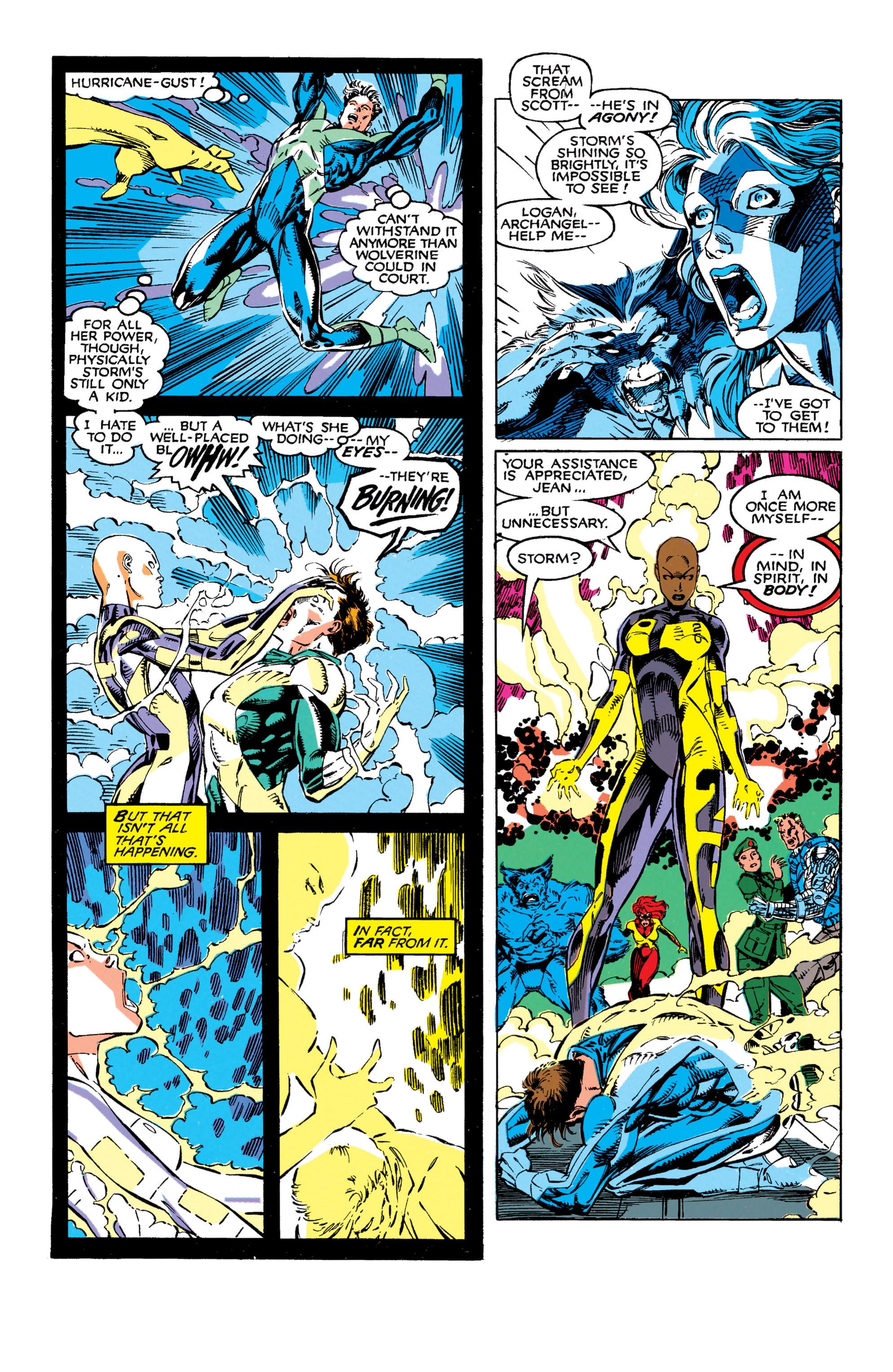 Read online Uncanny X-Men (1963) comic -  Issue #272 - 22