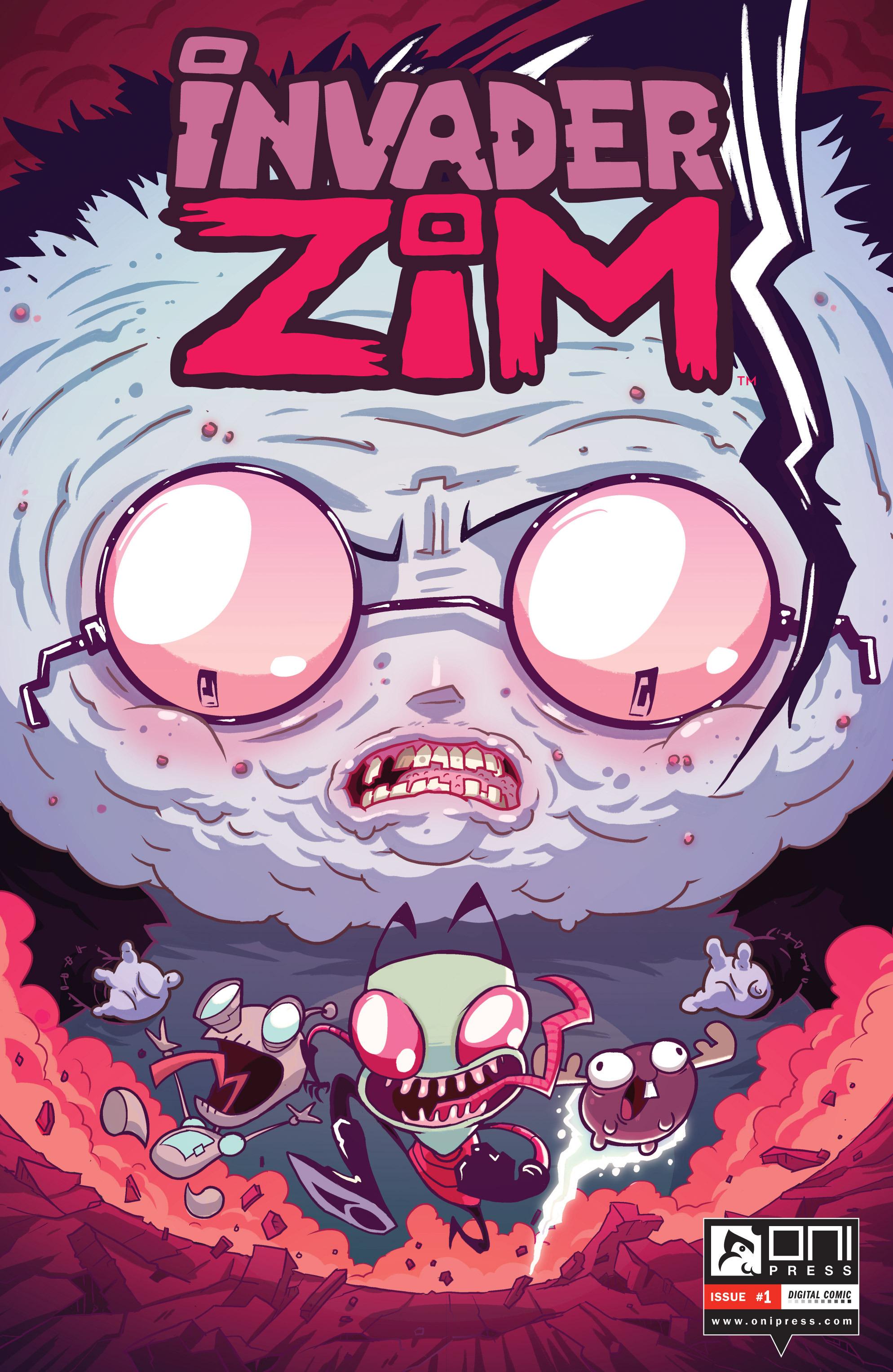 Invader Zim 1 Page 1