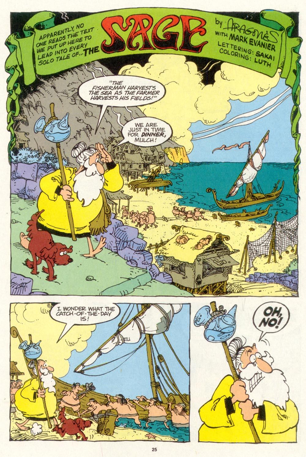 Read online Sergio Aragonés Groo the Wanderer comic -  Issue #103 - 27