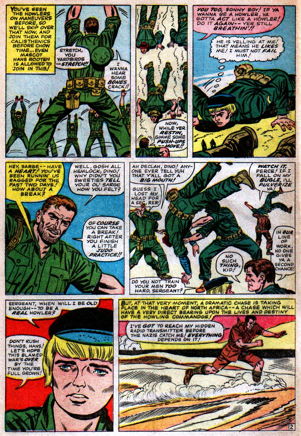 Read online Sgt. Fury comic -  Issue #16 - 4