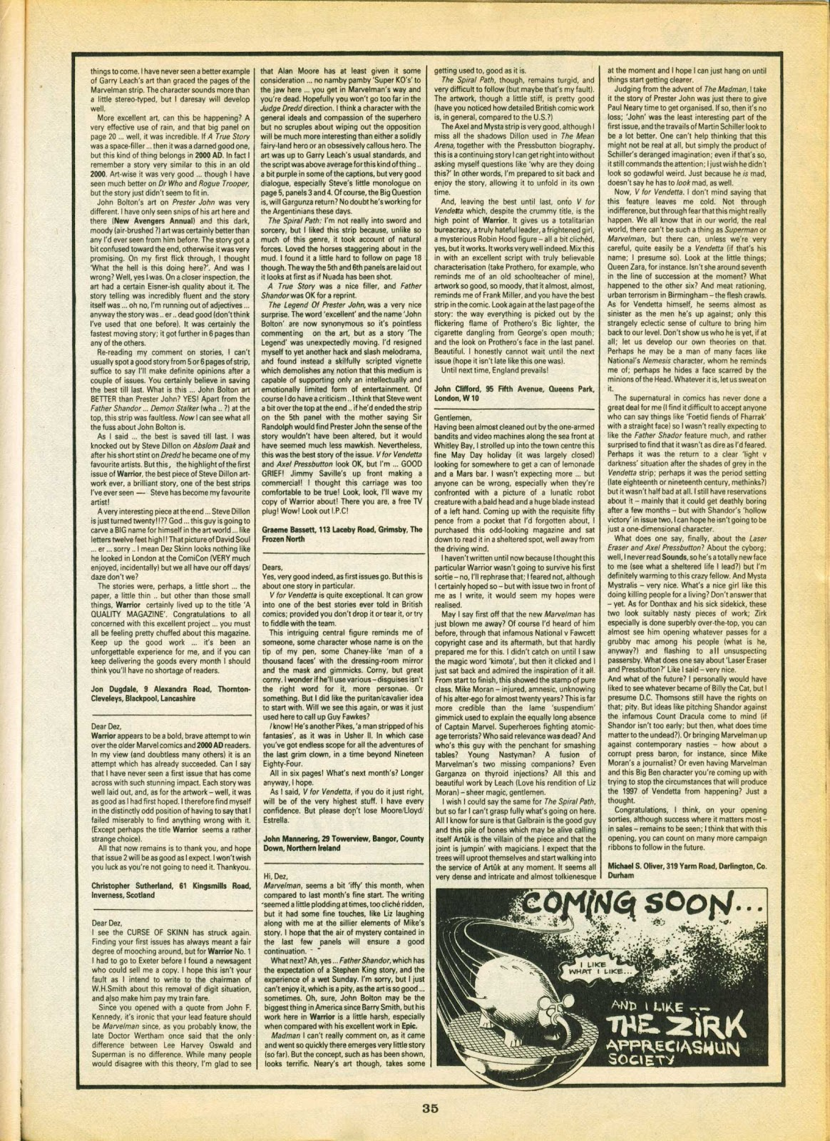 Warrior Issue #5 #6 - English 34