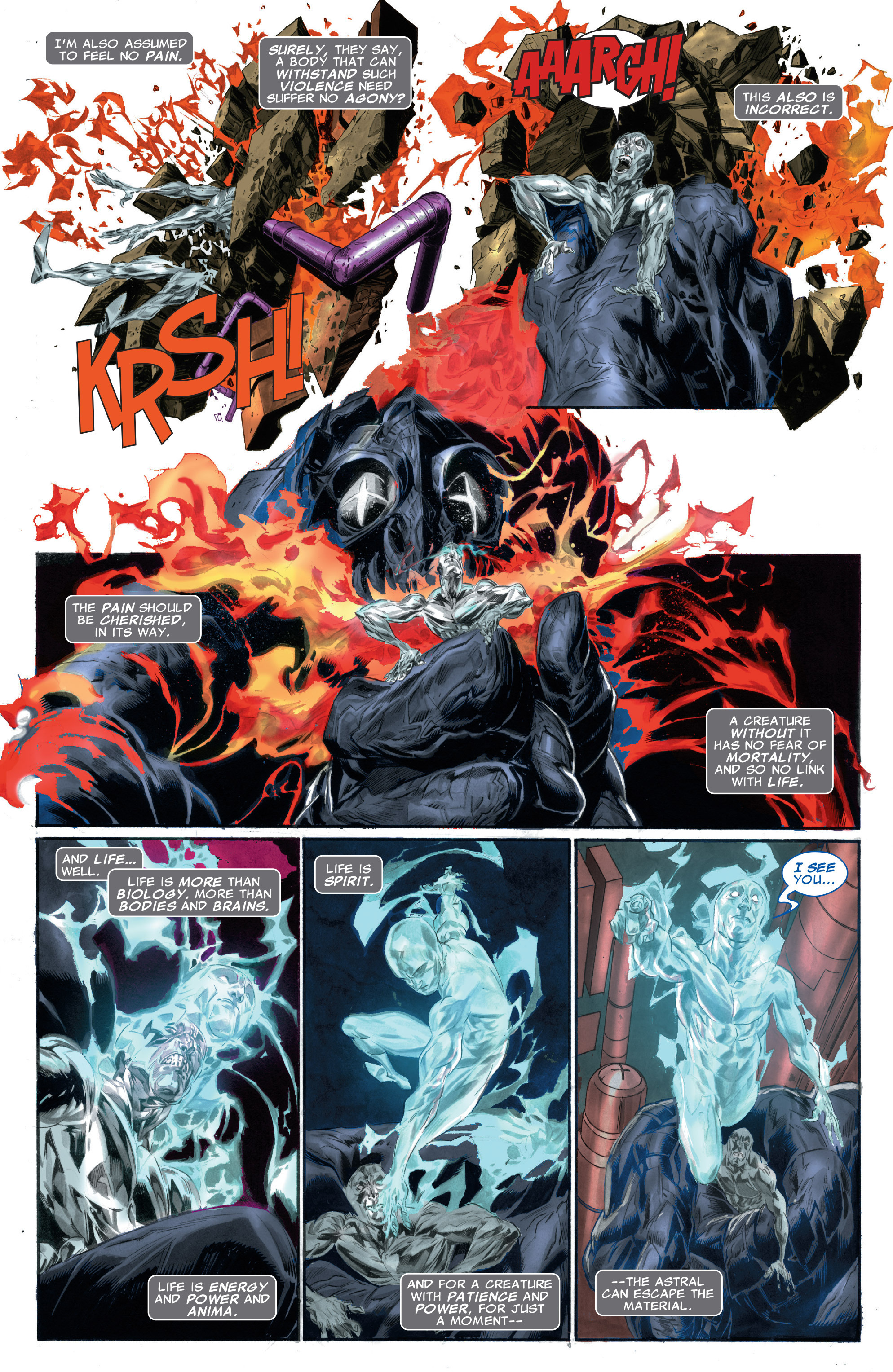 Read online Silver Surfer: In Thy Name comic -  Issue #2 - 4
