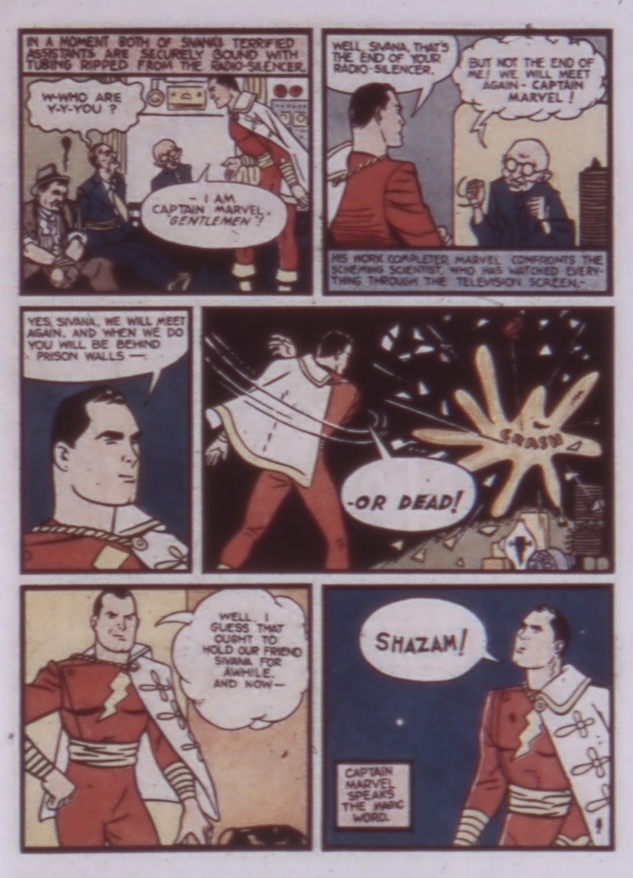 Read online WHIZ Comics comic -  Issue #1 - 13