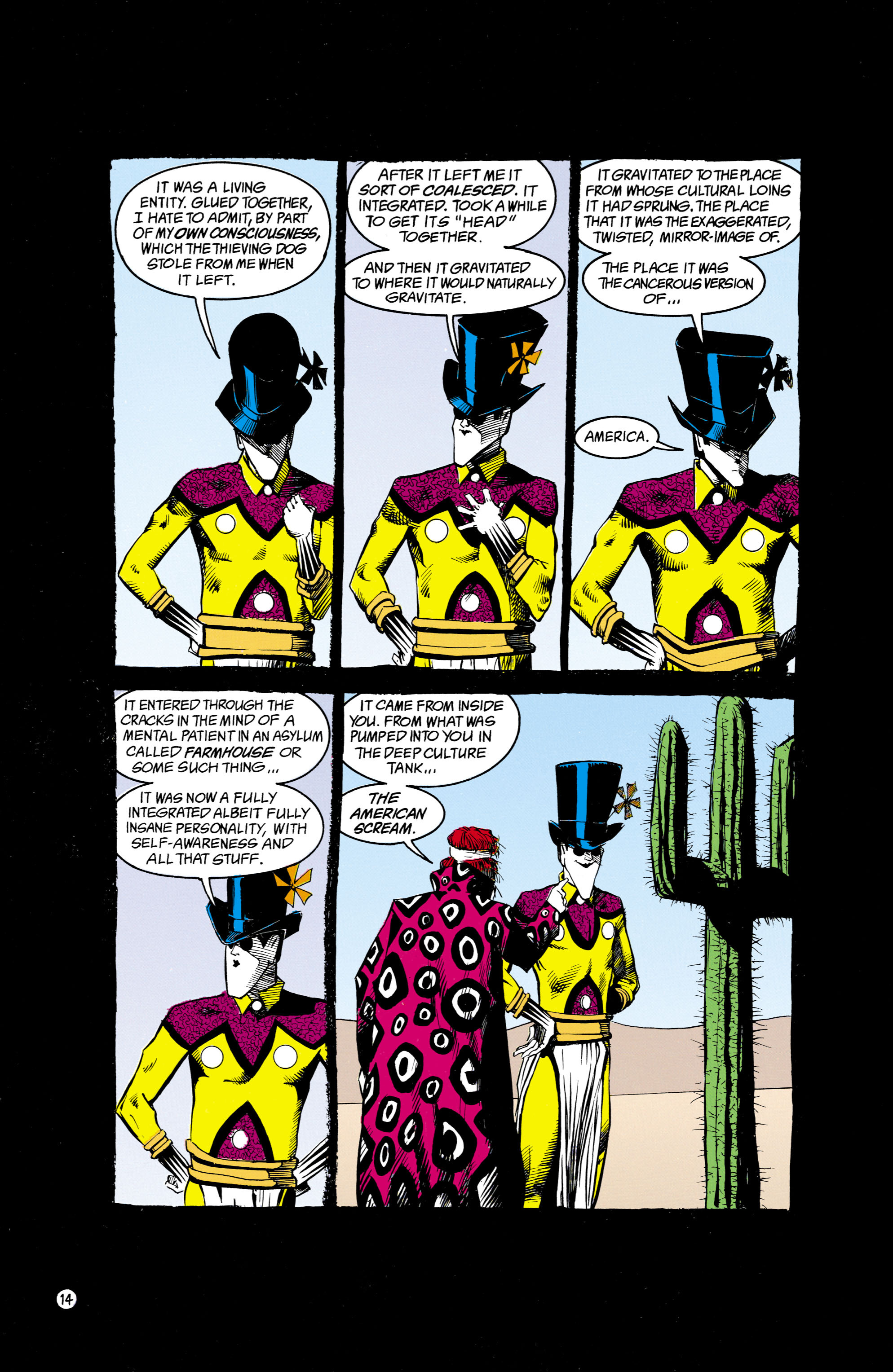 Read online Shade, the Changing Man comic -  Issue #16 - 14