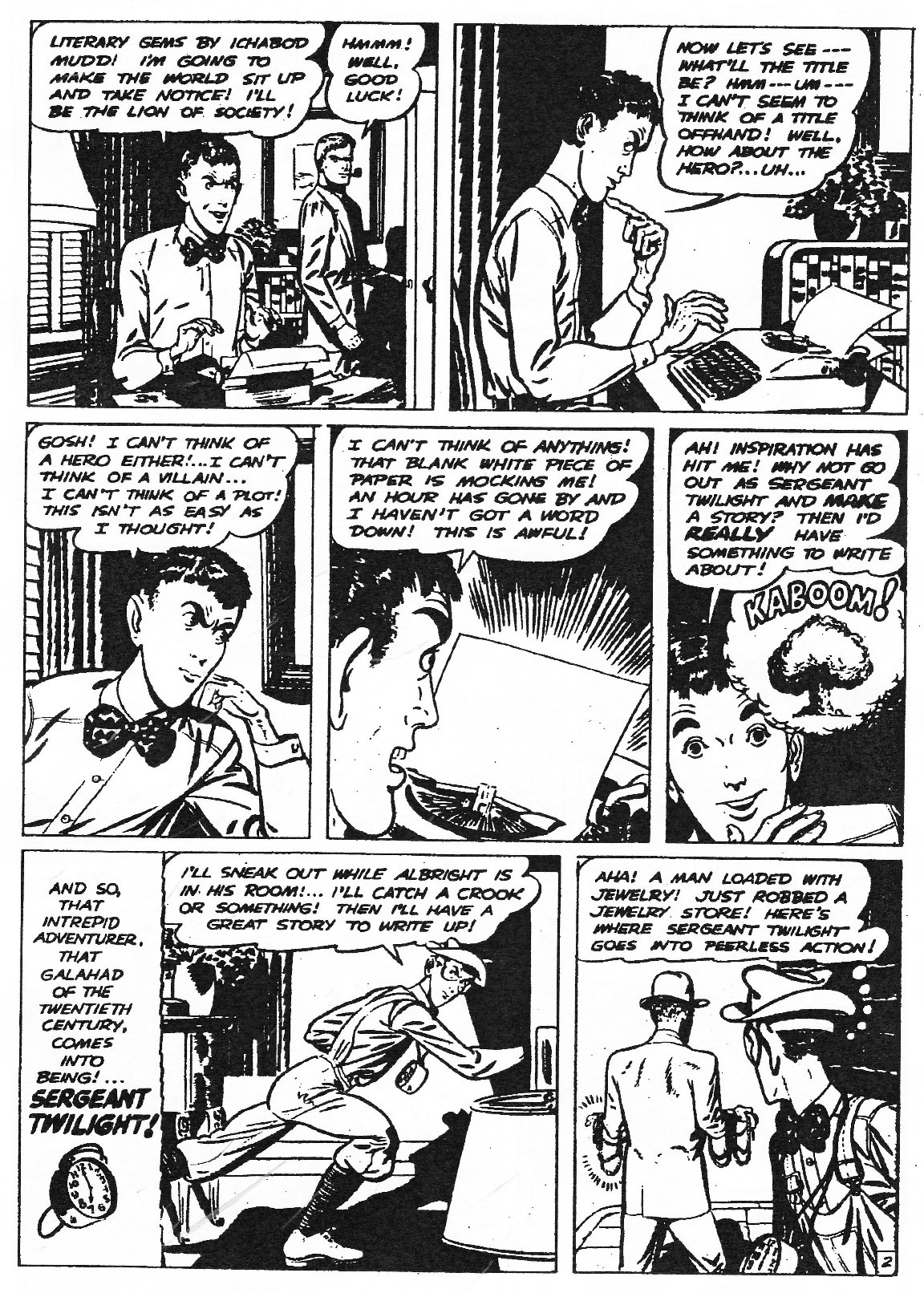 Read online Men of Mystery Comics comic -  Issue #83 - 131