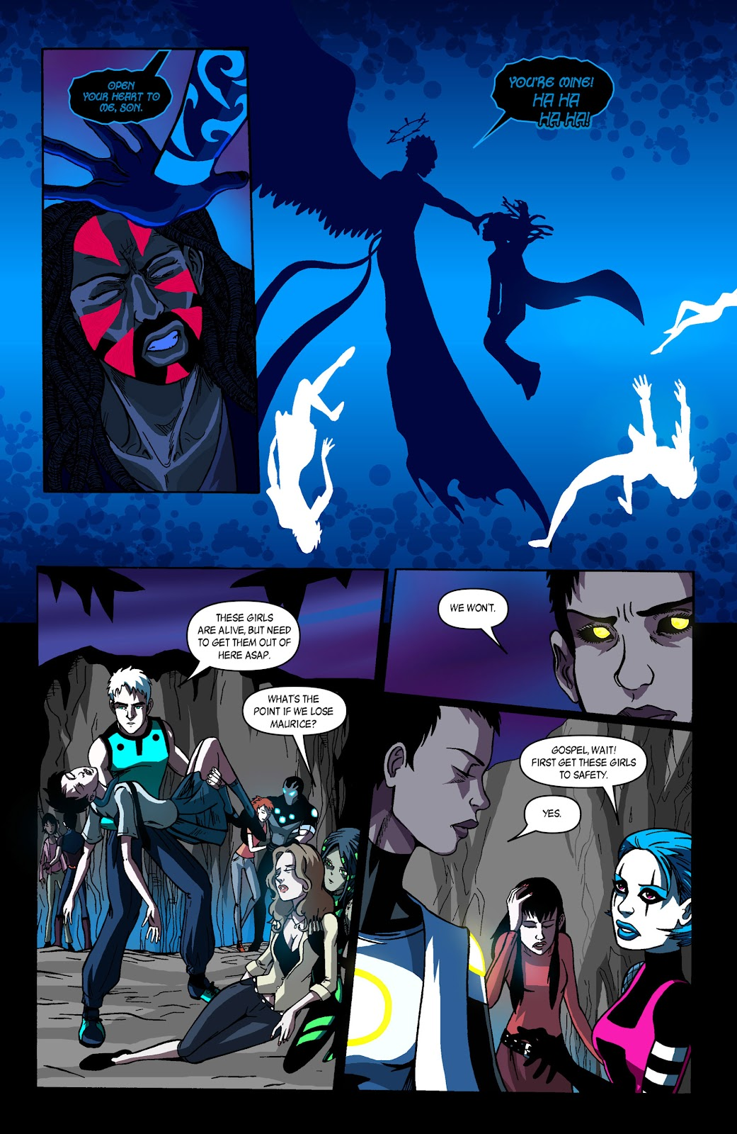 Sentinels issue 3 - Page 18