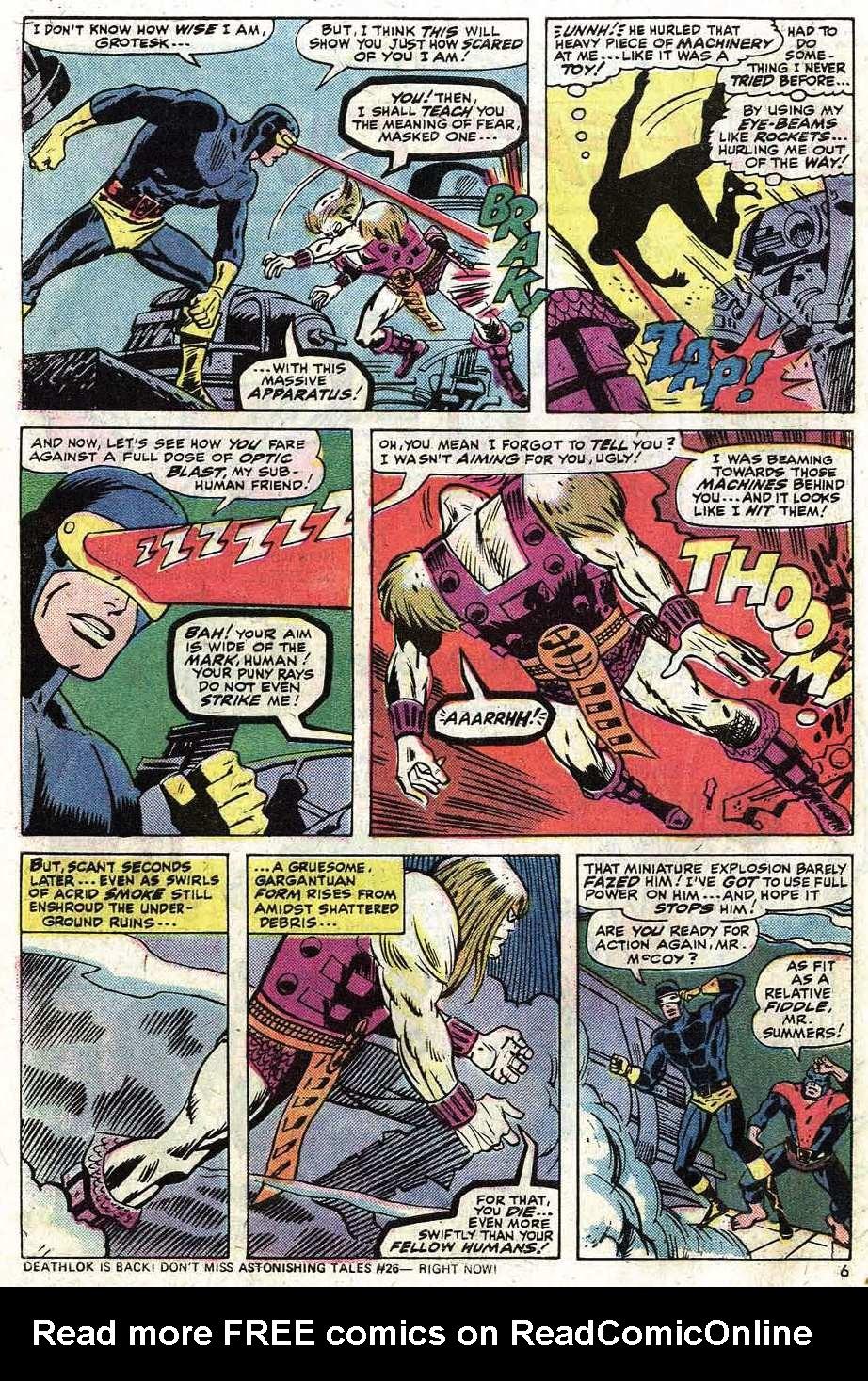 Uncanny X-Men (1963) 90 Page 7