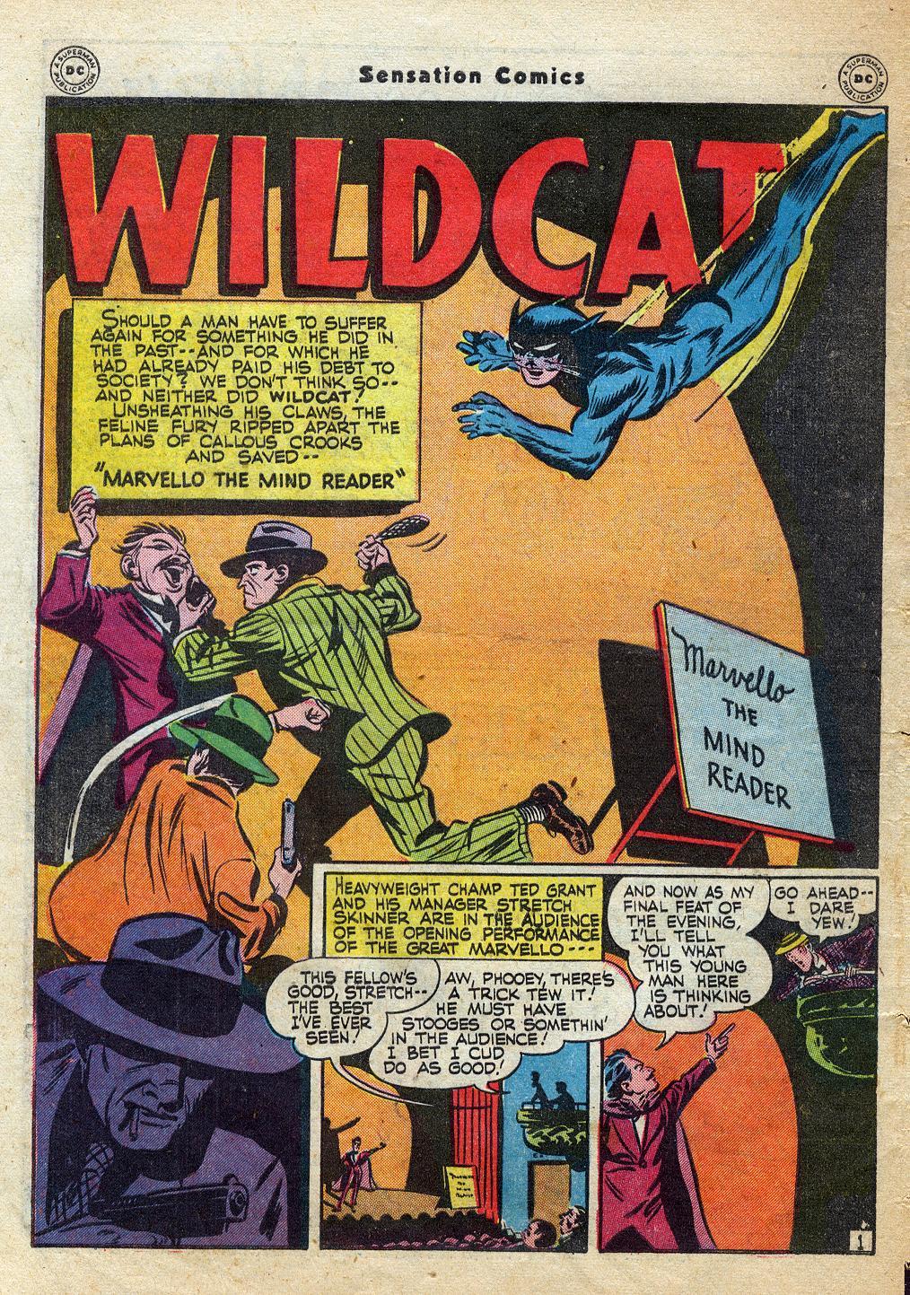 Read online Sensation (Mystery) Comics comic -  Issue #60 - 42
