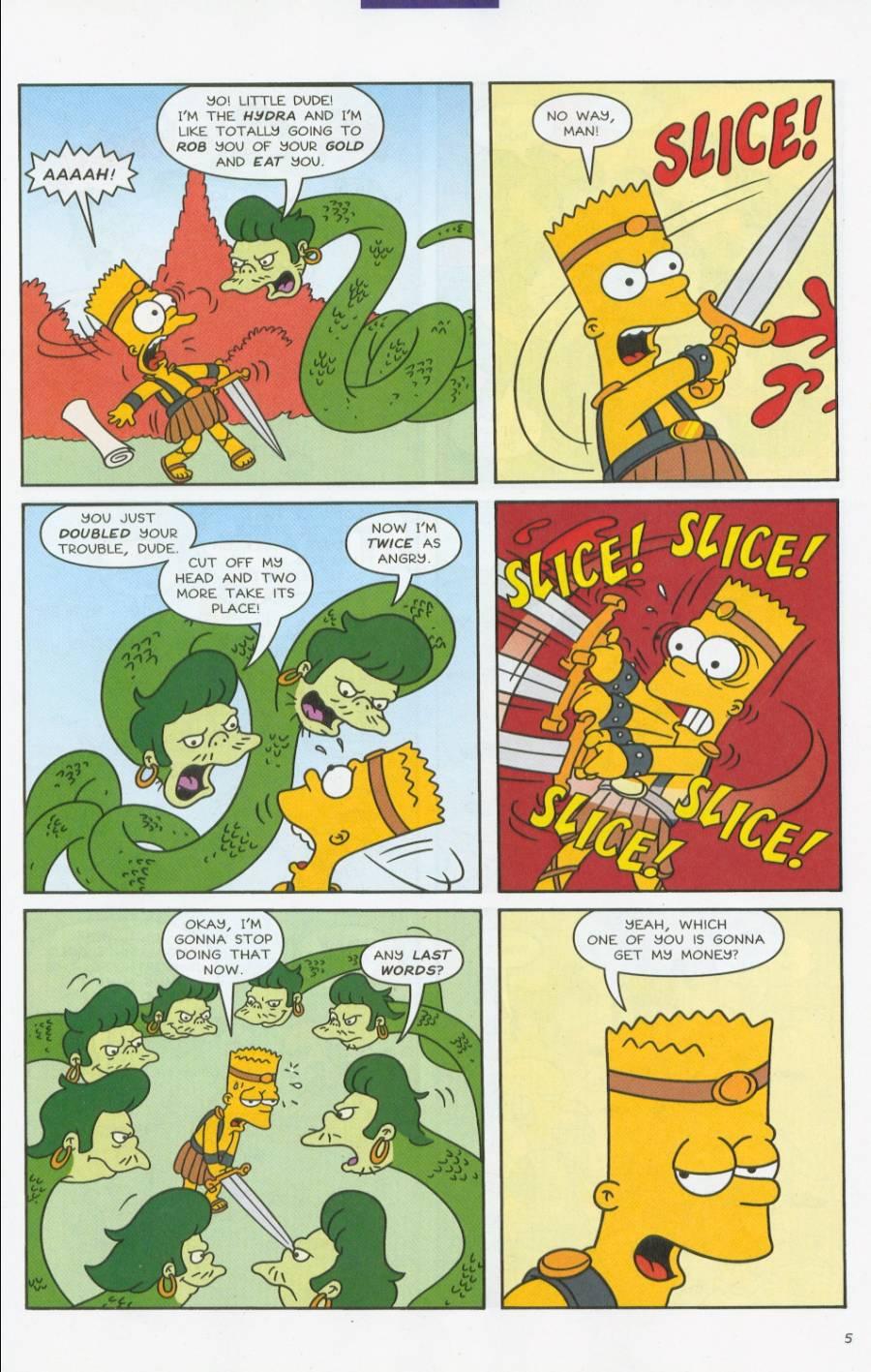 Read online Simpsons Comics comic -  Issue #70 - 6