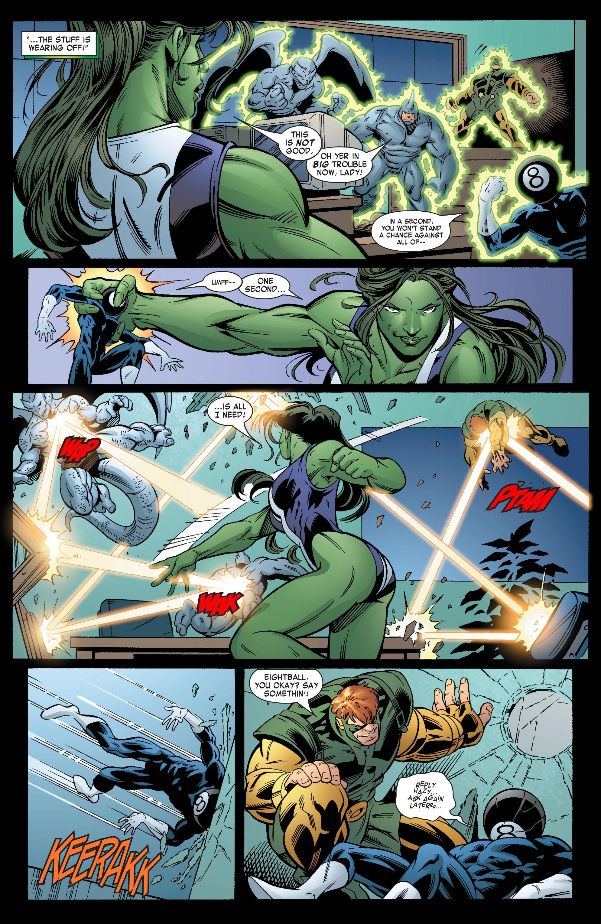 Read online She-Hulk (2004) comic -  Issue #6 - 17