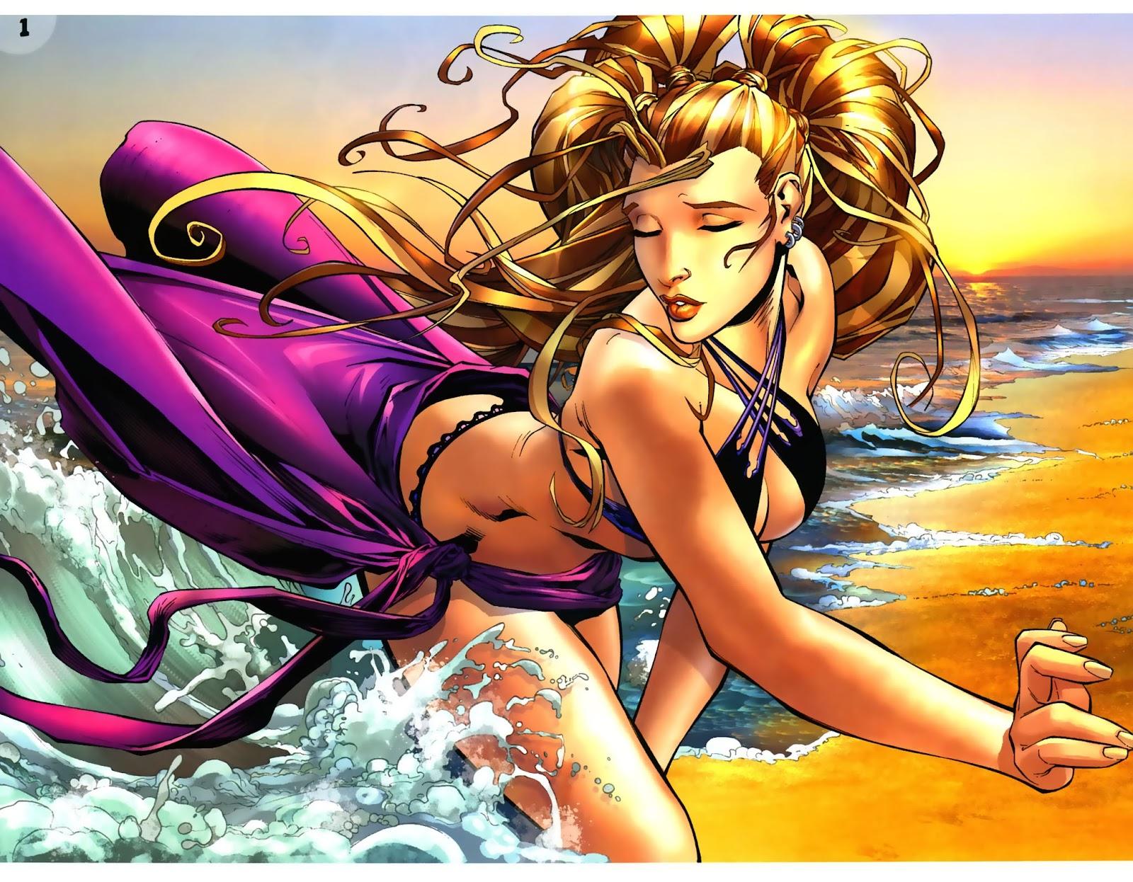 Read online Aspen Splash: Swimsuit Spectacular comic -  Issue # Issue 2006 - 3