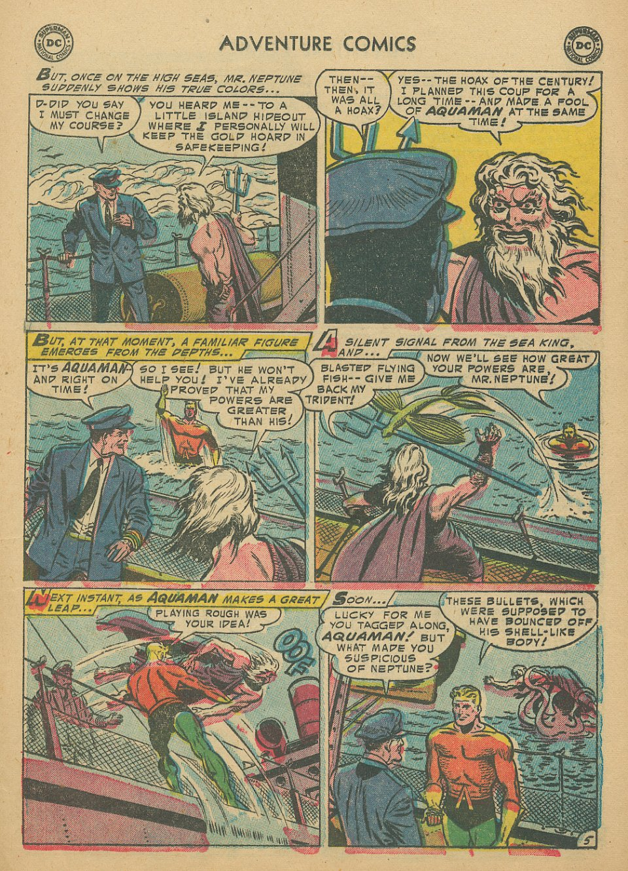 Read online Adventure Comics (1938) comic -  Issue #205 - 22