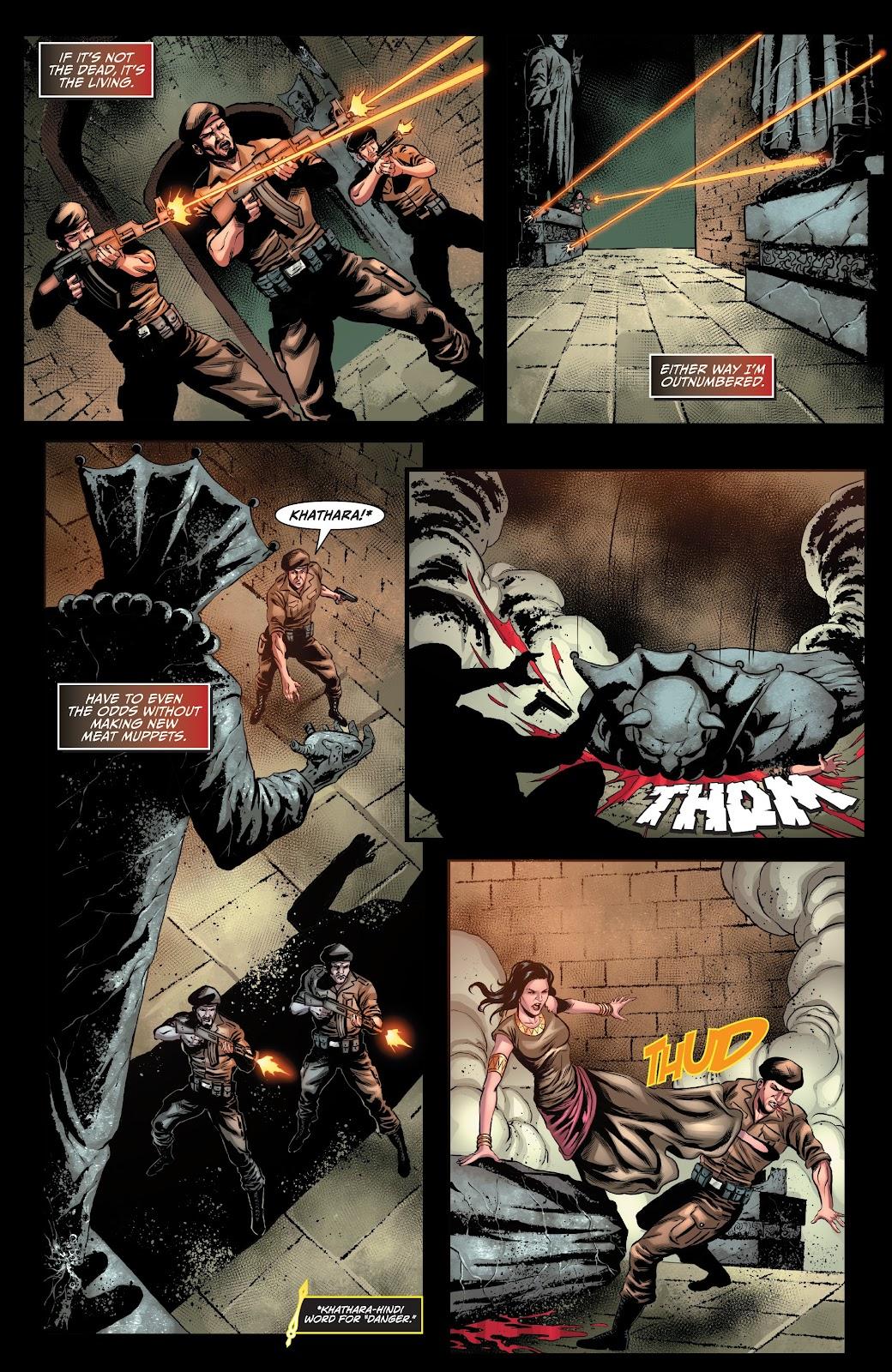 Read online Van Helsing: Sword of Heaven comic -  Issue #6 - 9