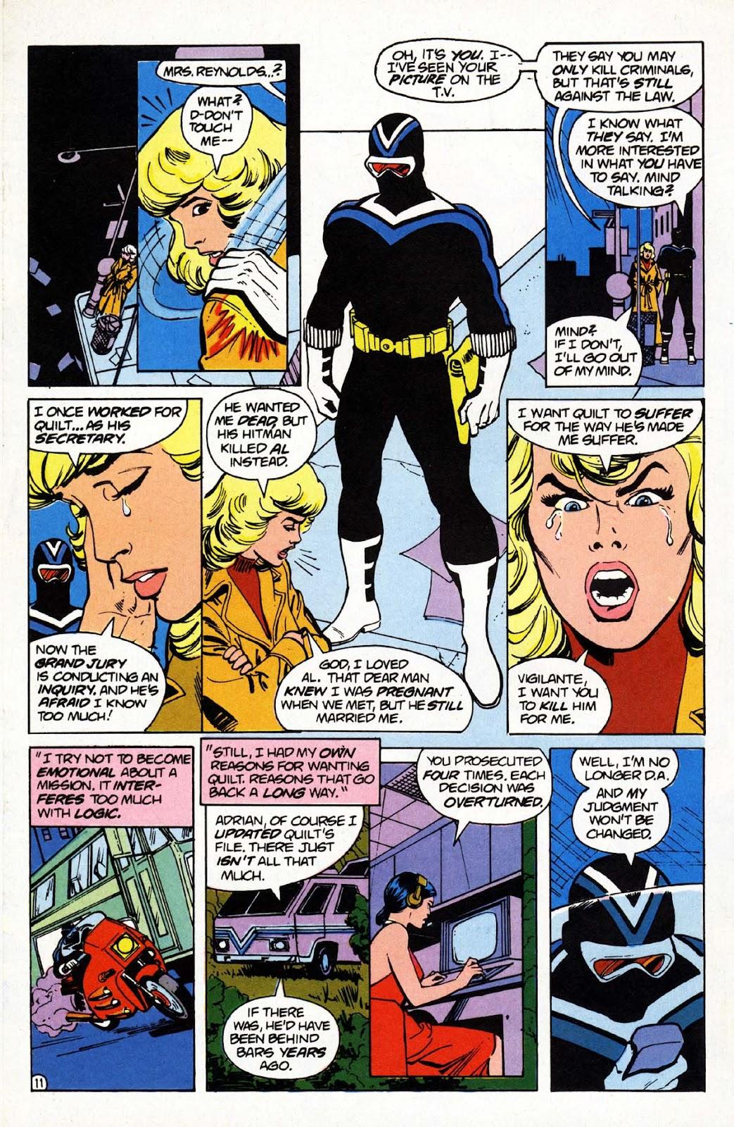 Vigilante (1983) issue 1 - Page 12
