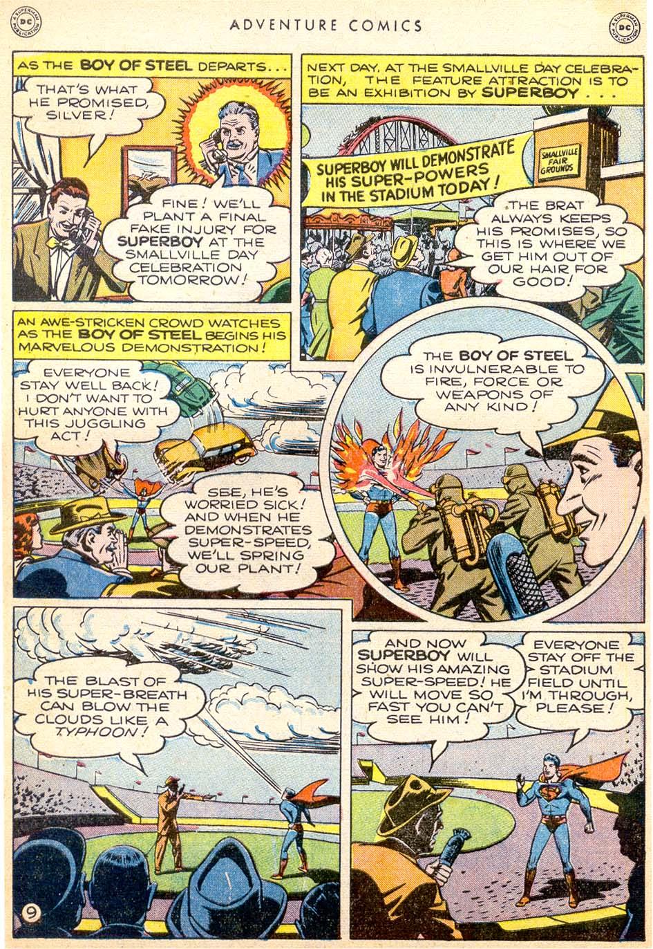 Read online Adventure Comics (1938) comic -  Issue #144 - 10