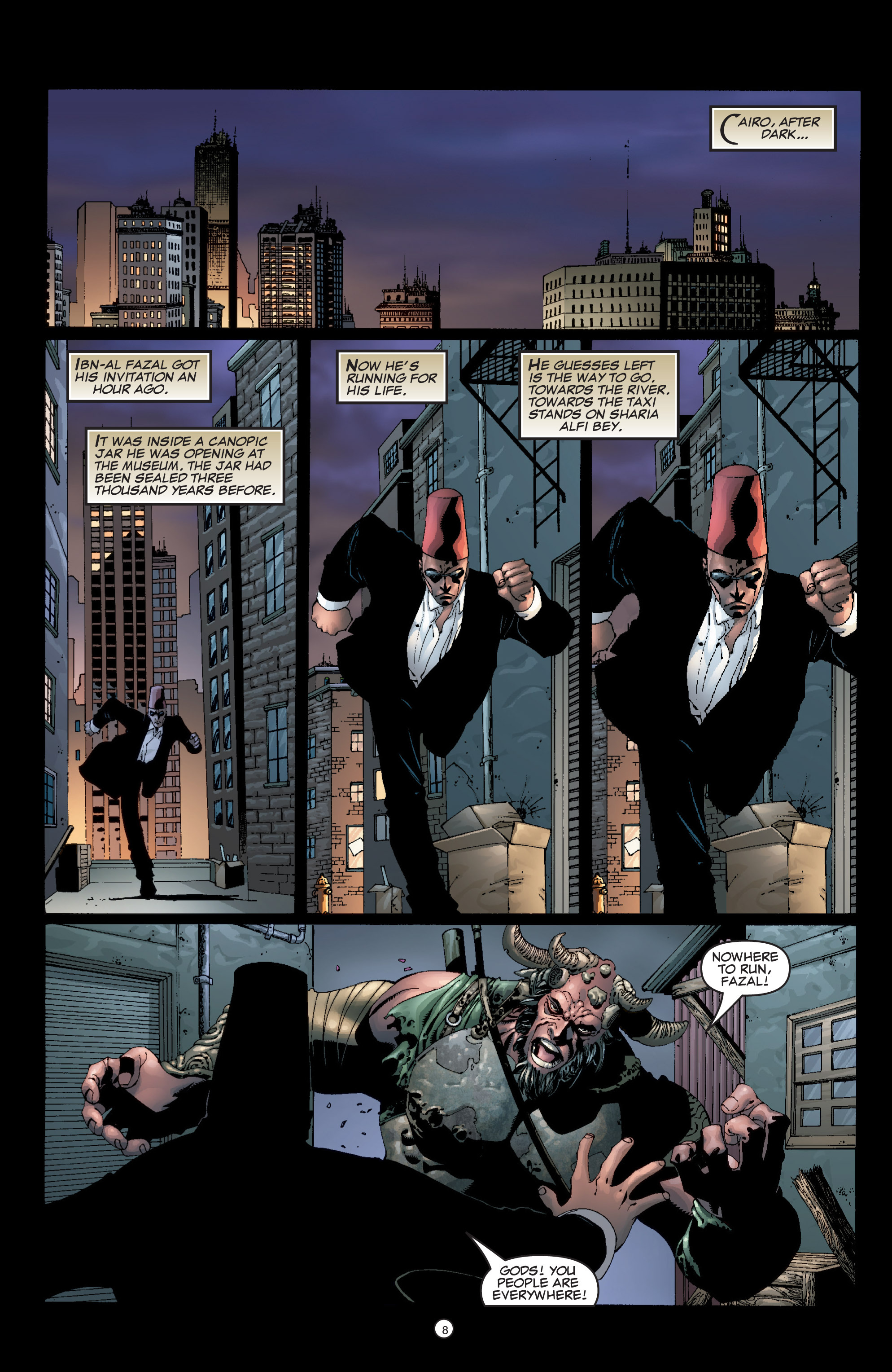 Read online Shadowman (1999) comic -  Issue #6 - 10