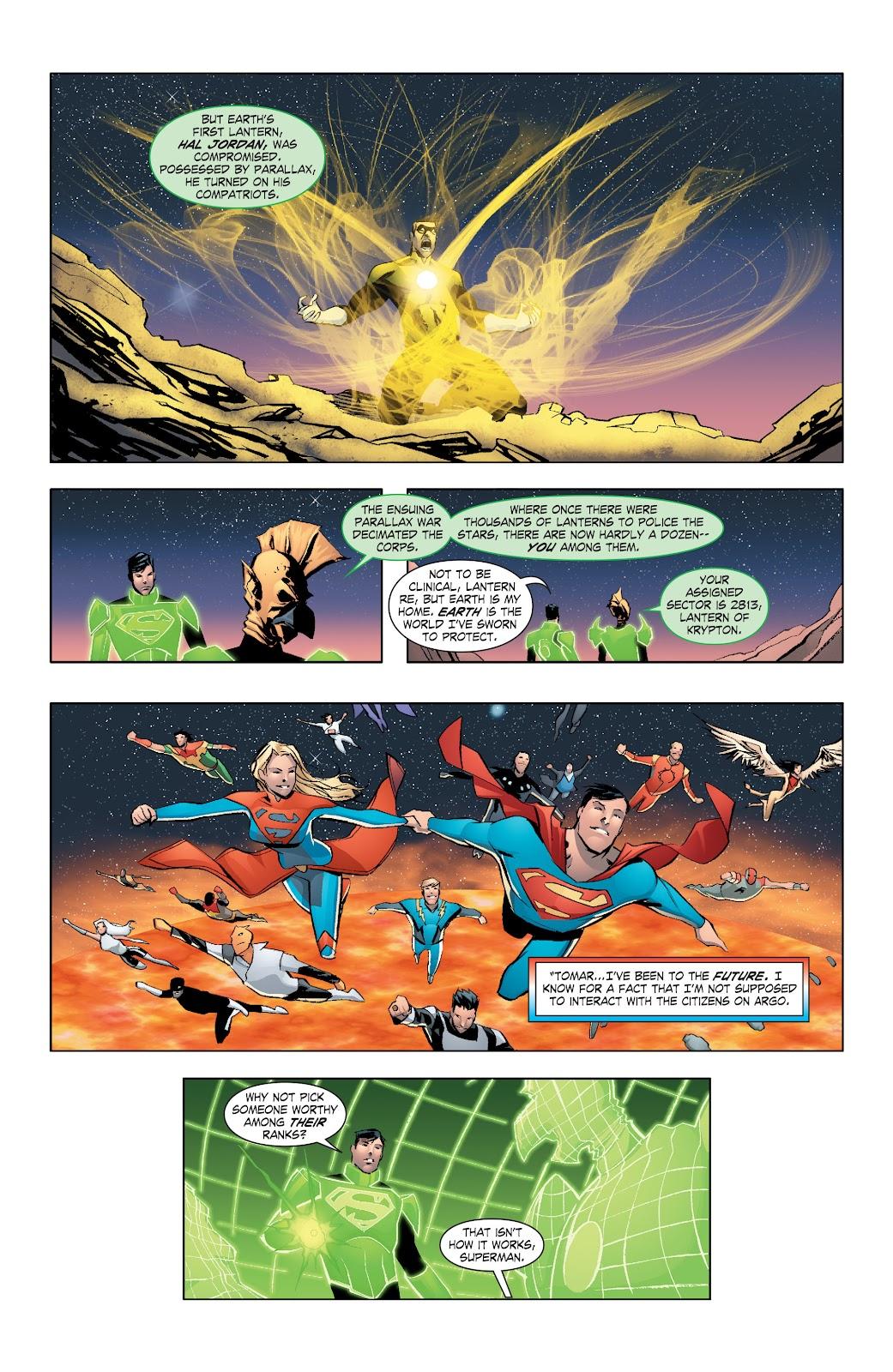 Read online Smallville Season 11 [II] comic -  Issue # TPB 7 - 32
