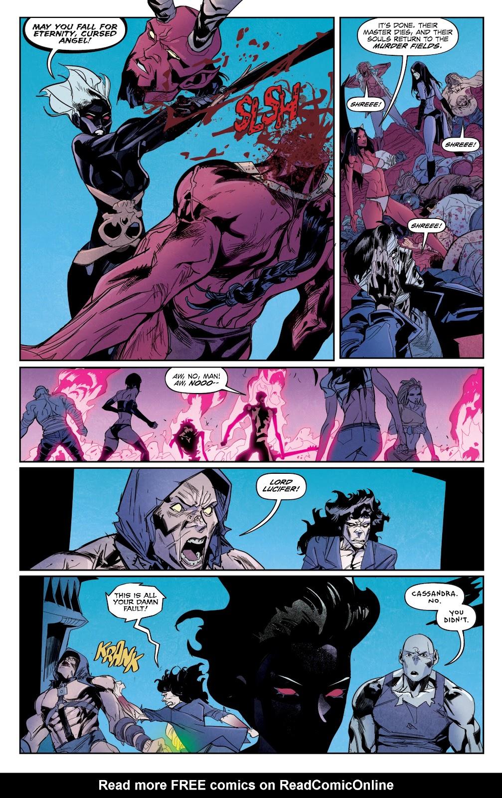 Read online Hack/Slash vs. Chaos comic -  Issue #5 - 15