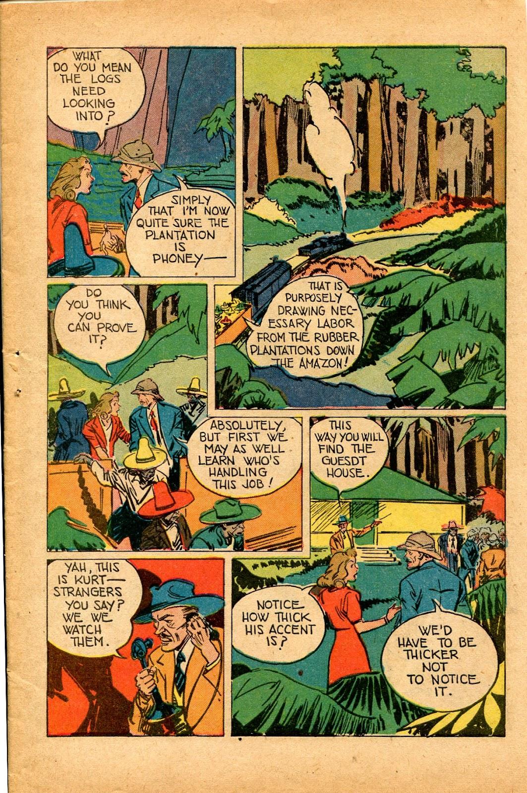 Read online Super-Magician Comics comic -  Issue #33 - 7