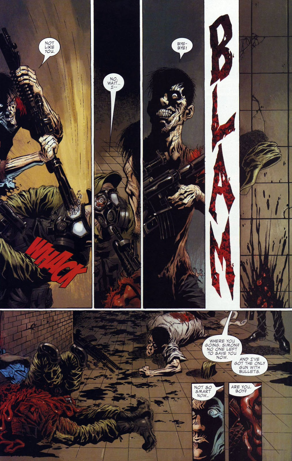 Read online Zombie (2006) comic -  Issue #4 - 15