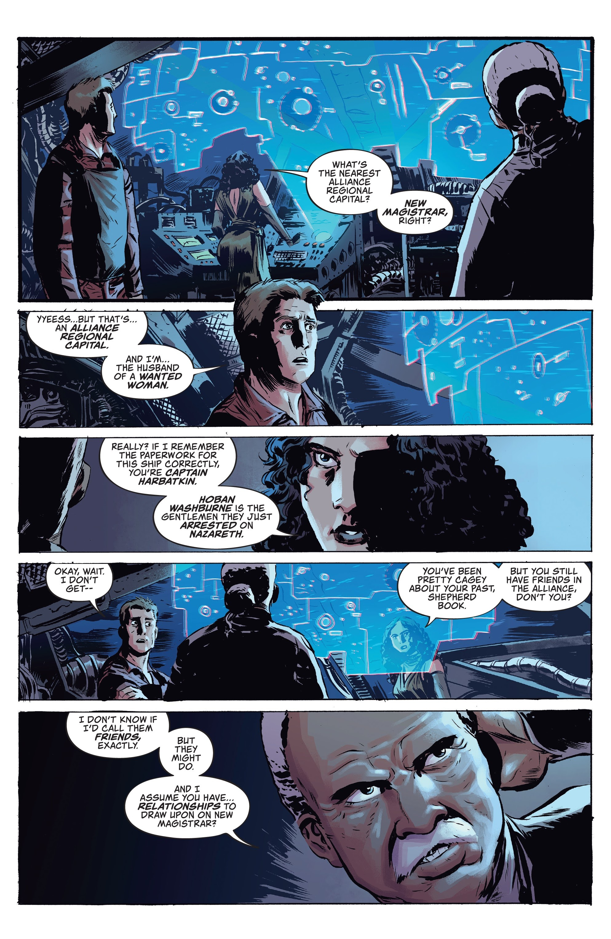 Read online Firefly comic -  Issue #7 - 11