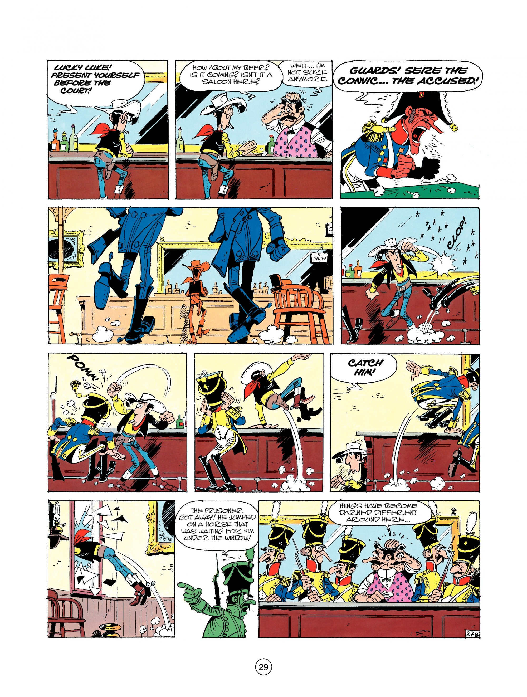 Read online A Lucky Luke Adventure comic -  Issue #22 - 29