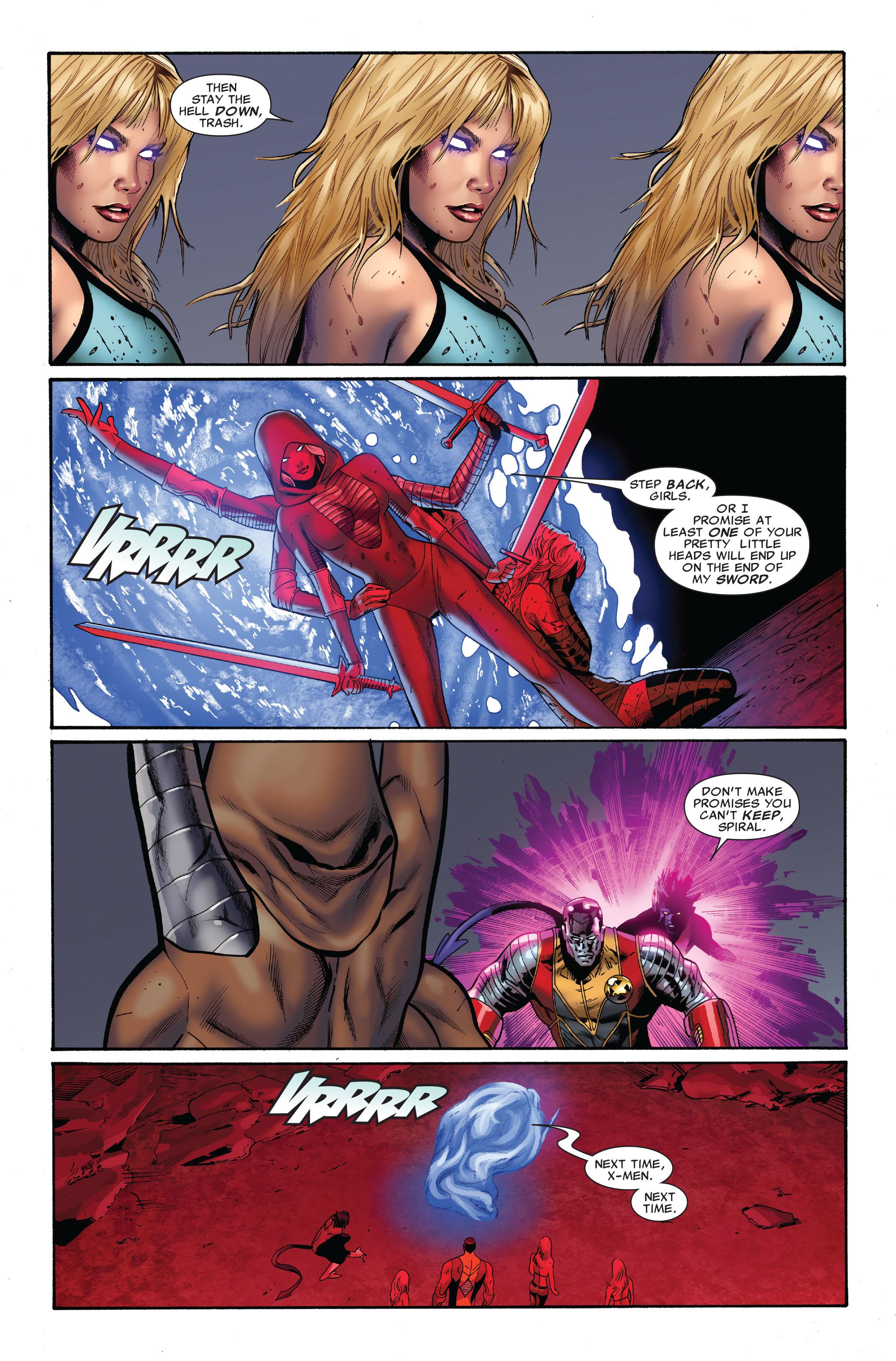 Read online Uncanny X-Men (1963) comic -  Issue #510 - 22