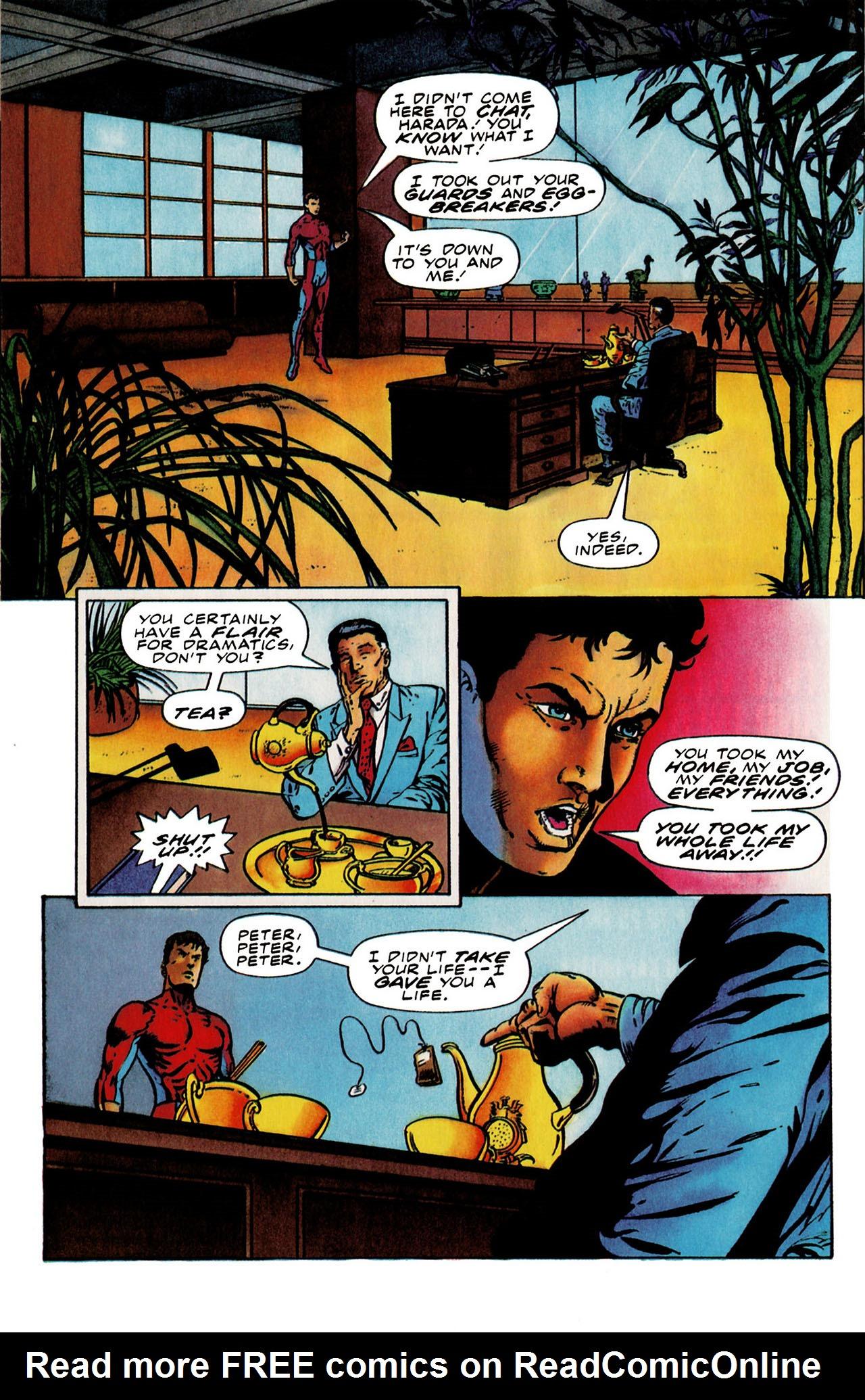 Read online Harbinger (1992) comic -  Issue #25 - 16