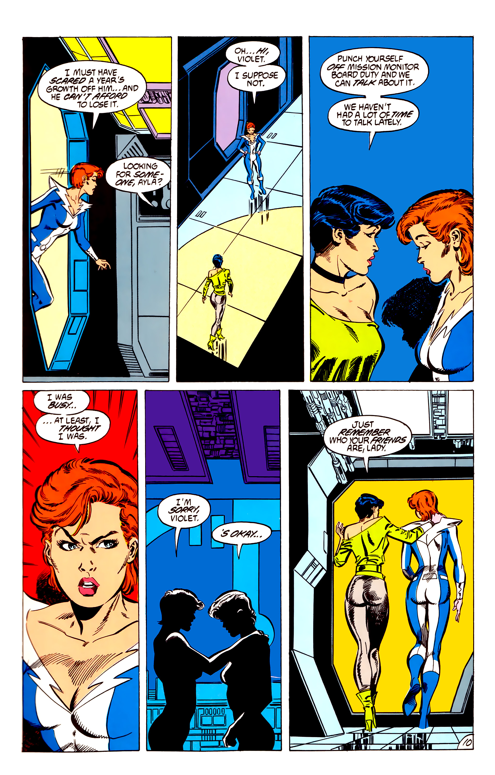 Legion of Super-Heroes (1984) 56 Page 10