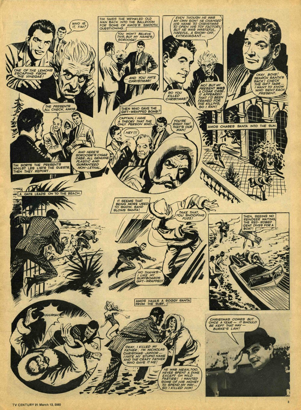 Read online TV Century 21 (TV 21) comic -  Issue #8 - 3