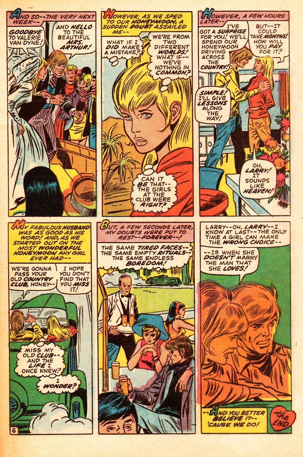 My Love (1969) issue 22 - Page 20