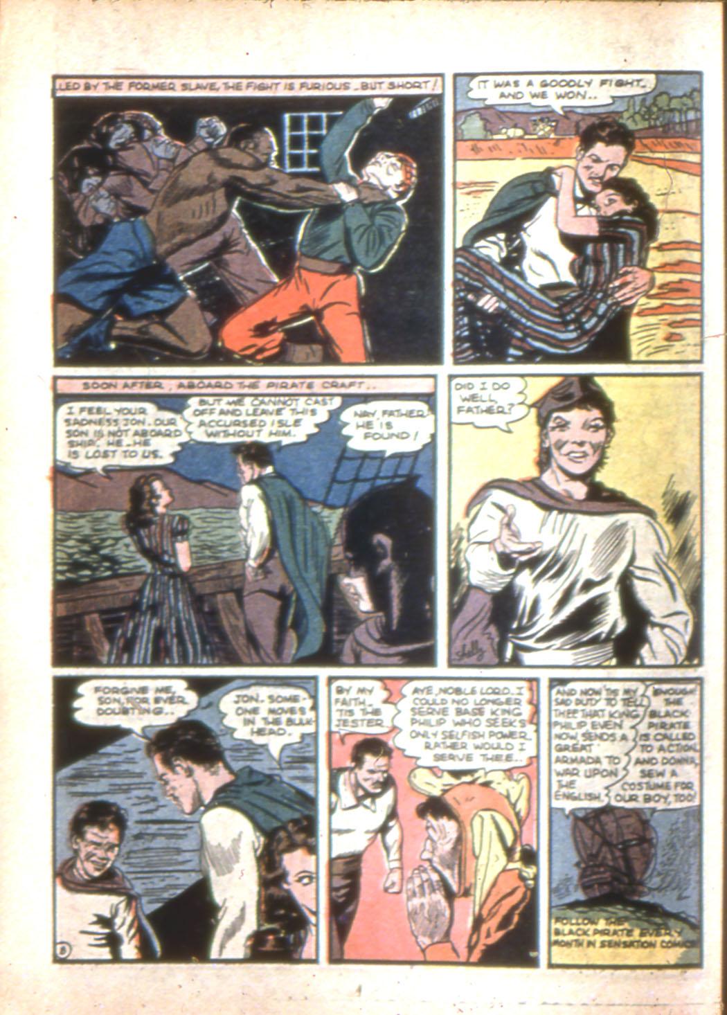 Read online Sensation (Mystery) Comics comic -  Issue #7 - 24