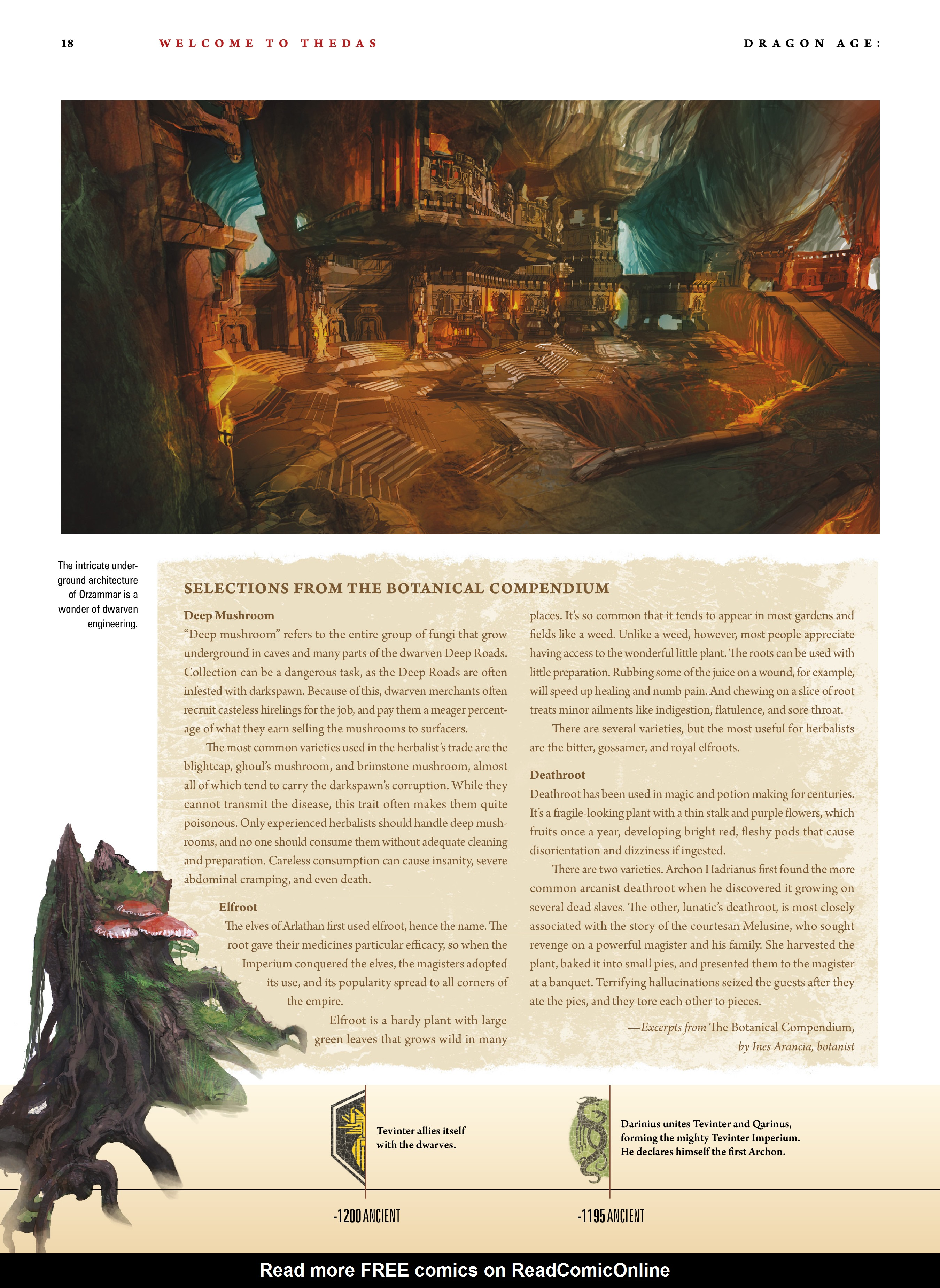 Read online Dragon Age: The World of Thedas comic -  Issue # TPB 1 - 14