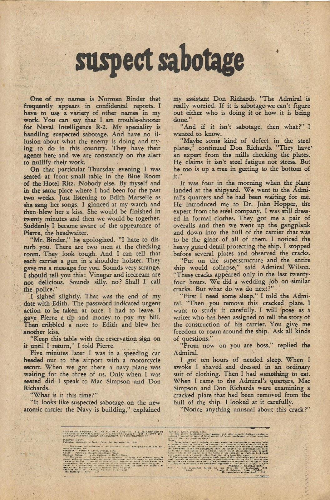 Read online Fightin' Navy comic -  Issue #98 - 19