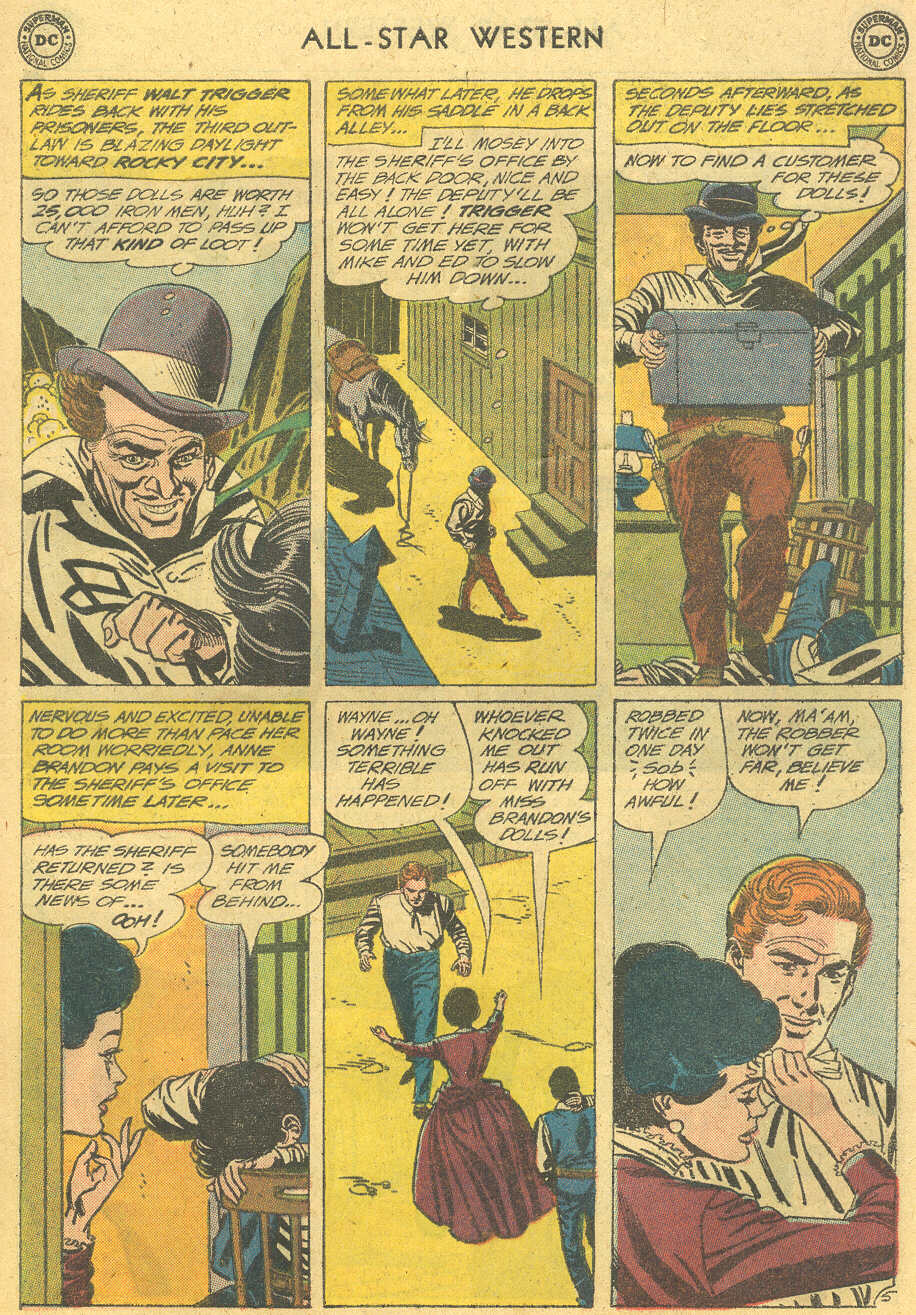 Read online All-Star Western (1951) comic -  Issue #114 - 29