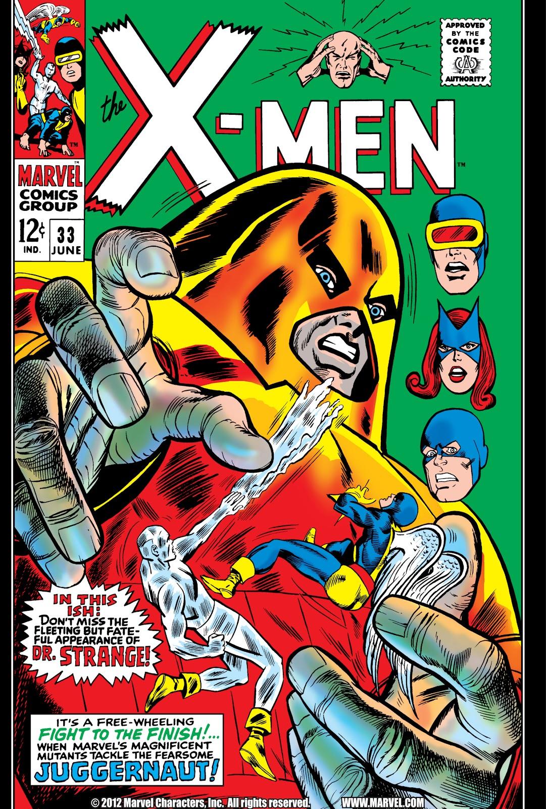 Uncanny X-Men (1963) issue 33 - Page 1