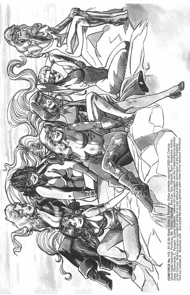 Femforce Issue #113 #113 - English 3