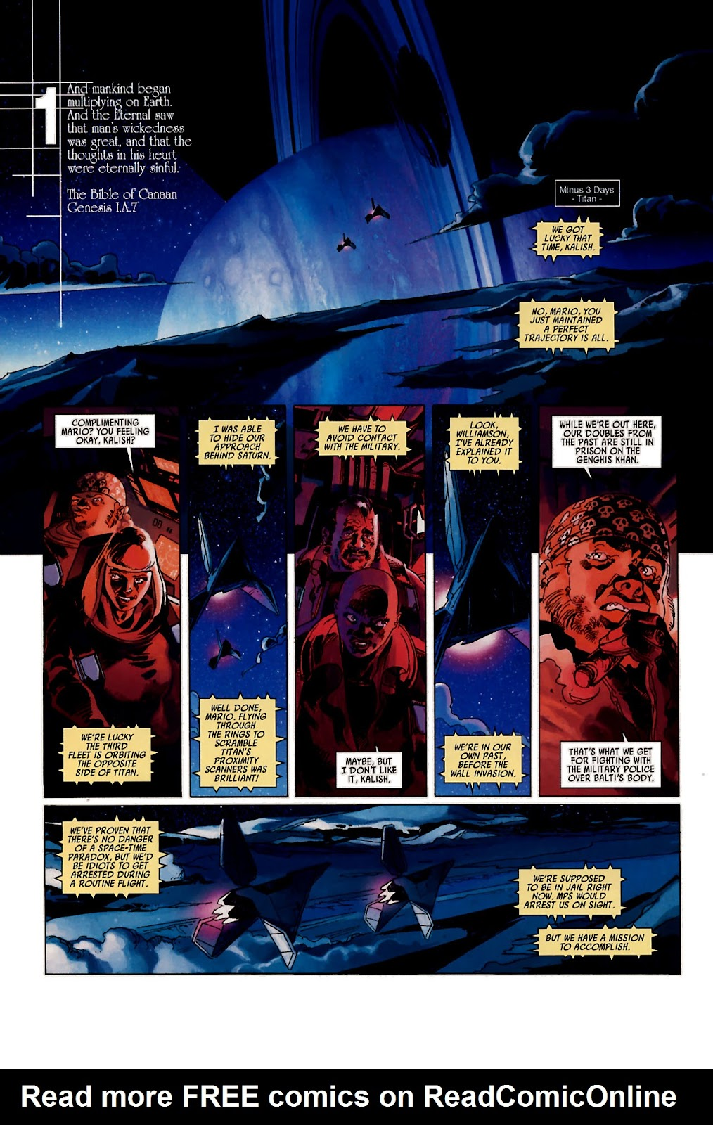 Read online Universal War One: Revelations comic -  Issue #1 - 9