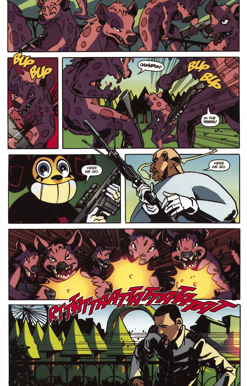 Read online Ricky Rouse Has A Gun comic -  Issue # TPB (Part 2) - 28