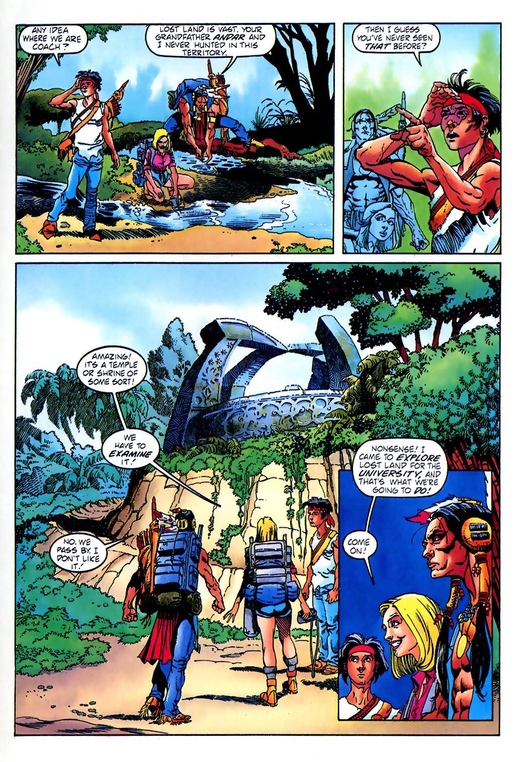 Read online Turok, Dinosaur Hunter (1993) comic -  Issue #37 - 9