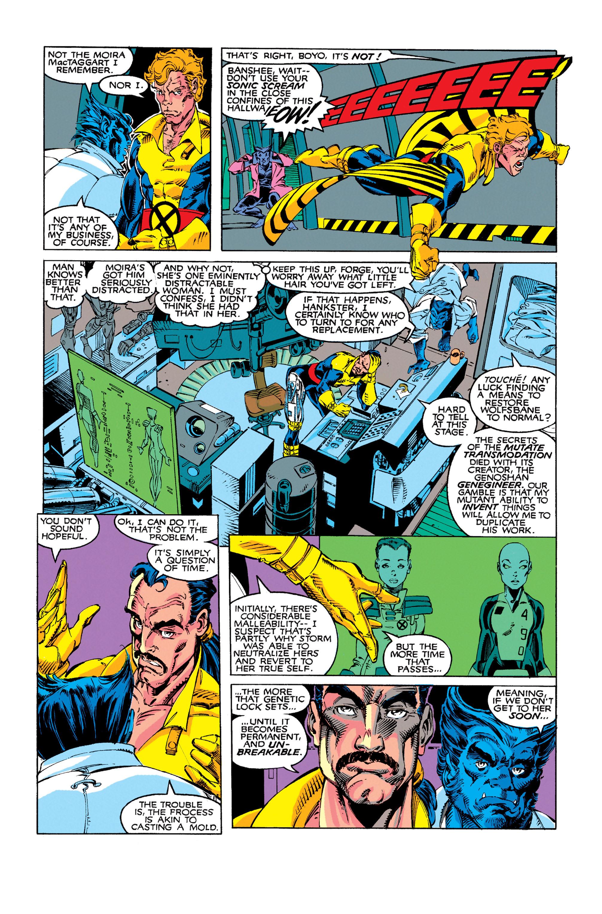 Read online Uncanny X-Men (1963) comic -  Issue #273 - 11