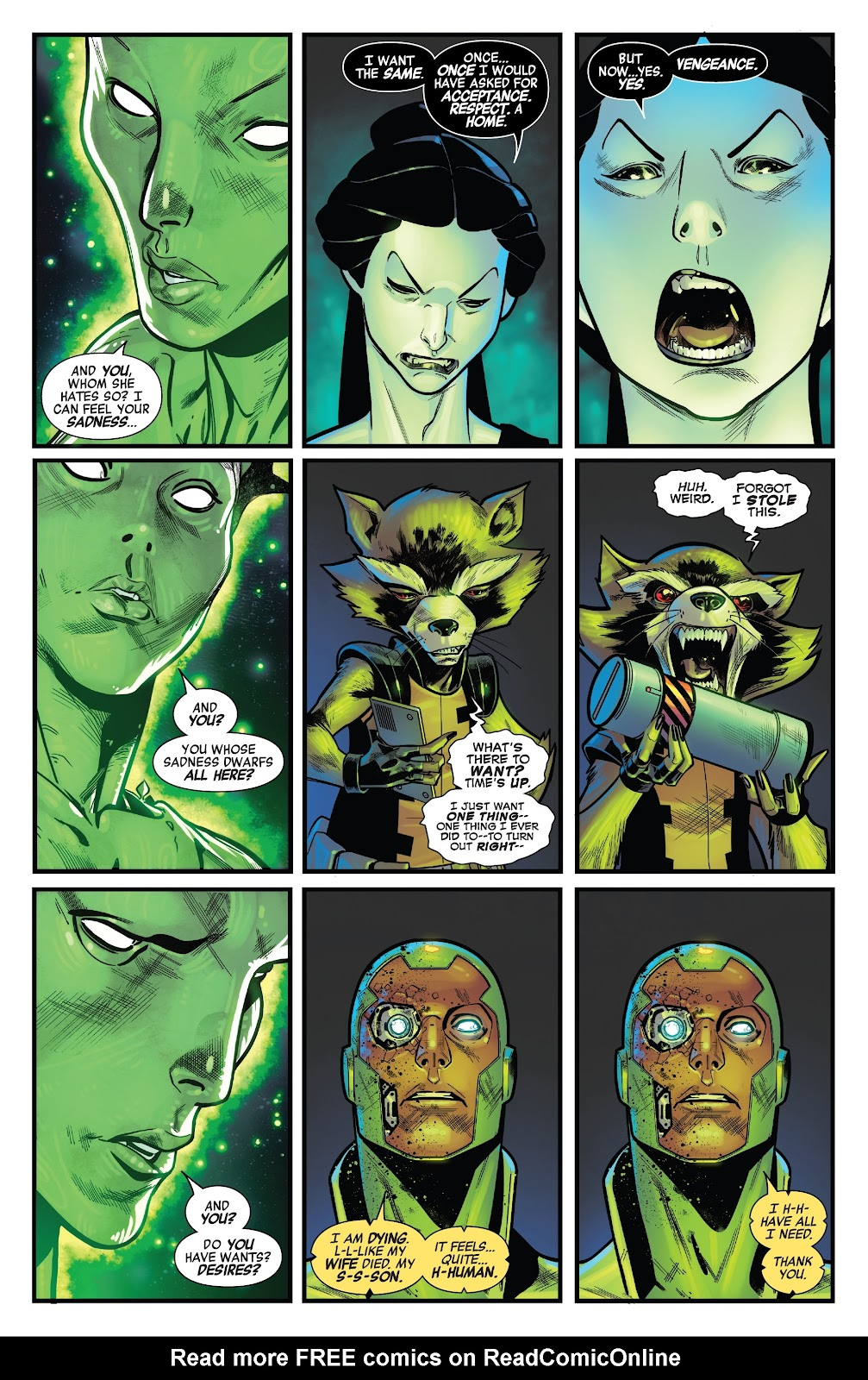 Read online Avengers No Road Home comic -  Issue #9 - 8