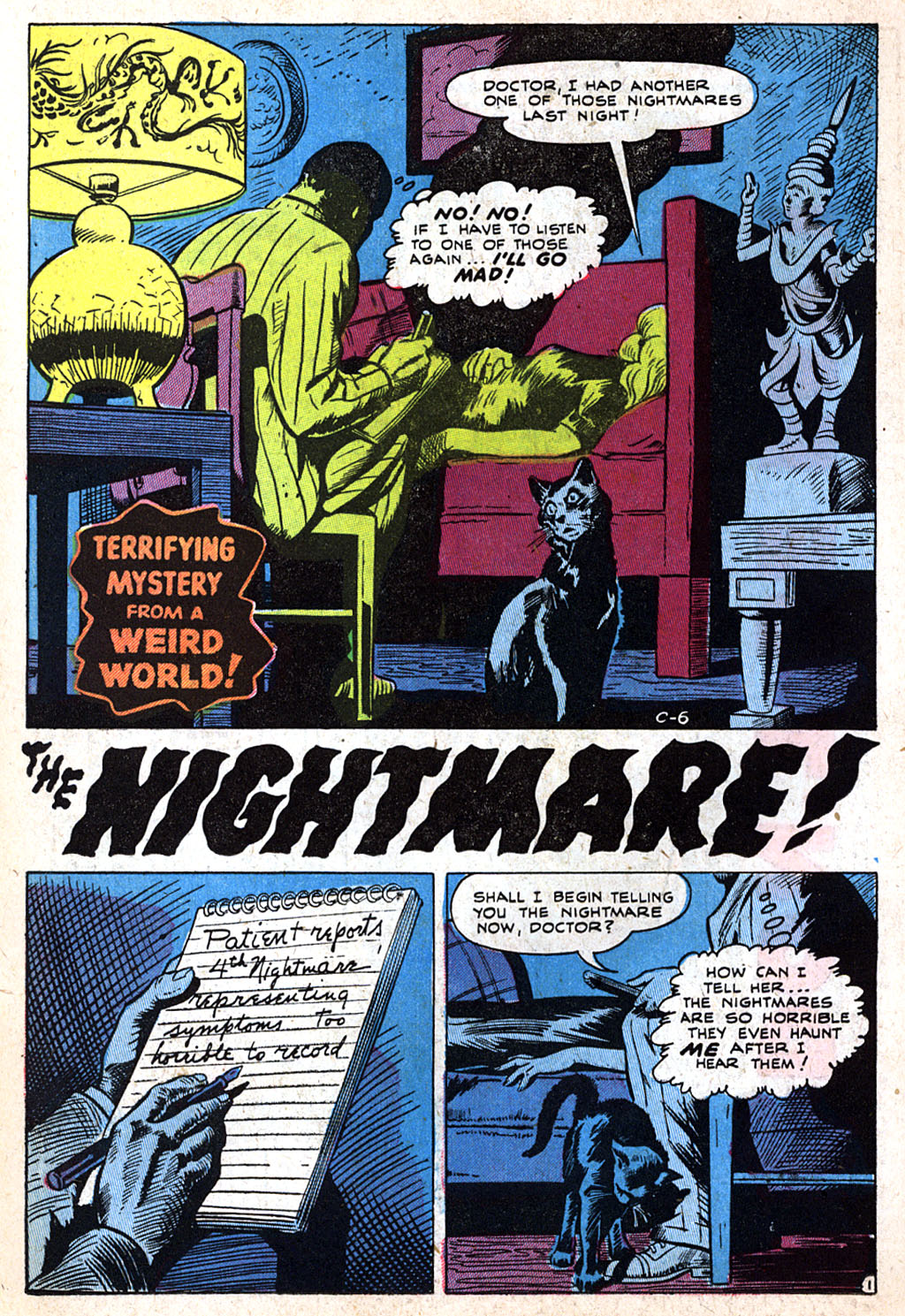 Read online Adventures into Weird Worlds comic -  Issue #17 - 22
