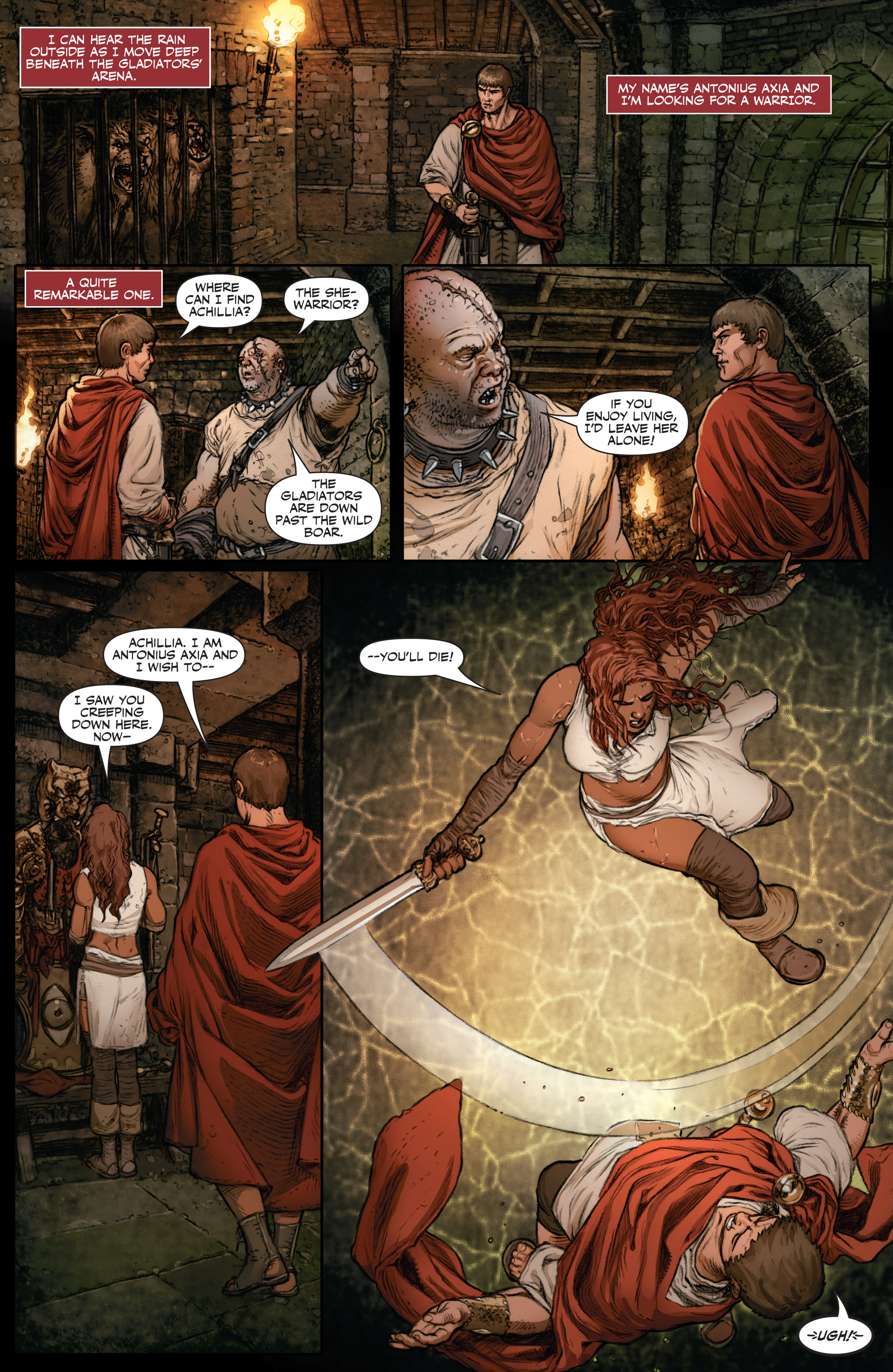 Read online Britannia: We Who Are About To Die comic -  Issue #2 - 6