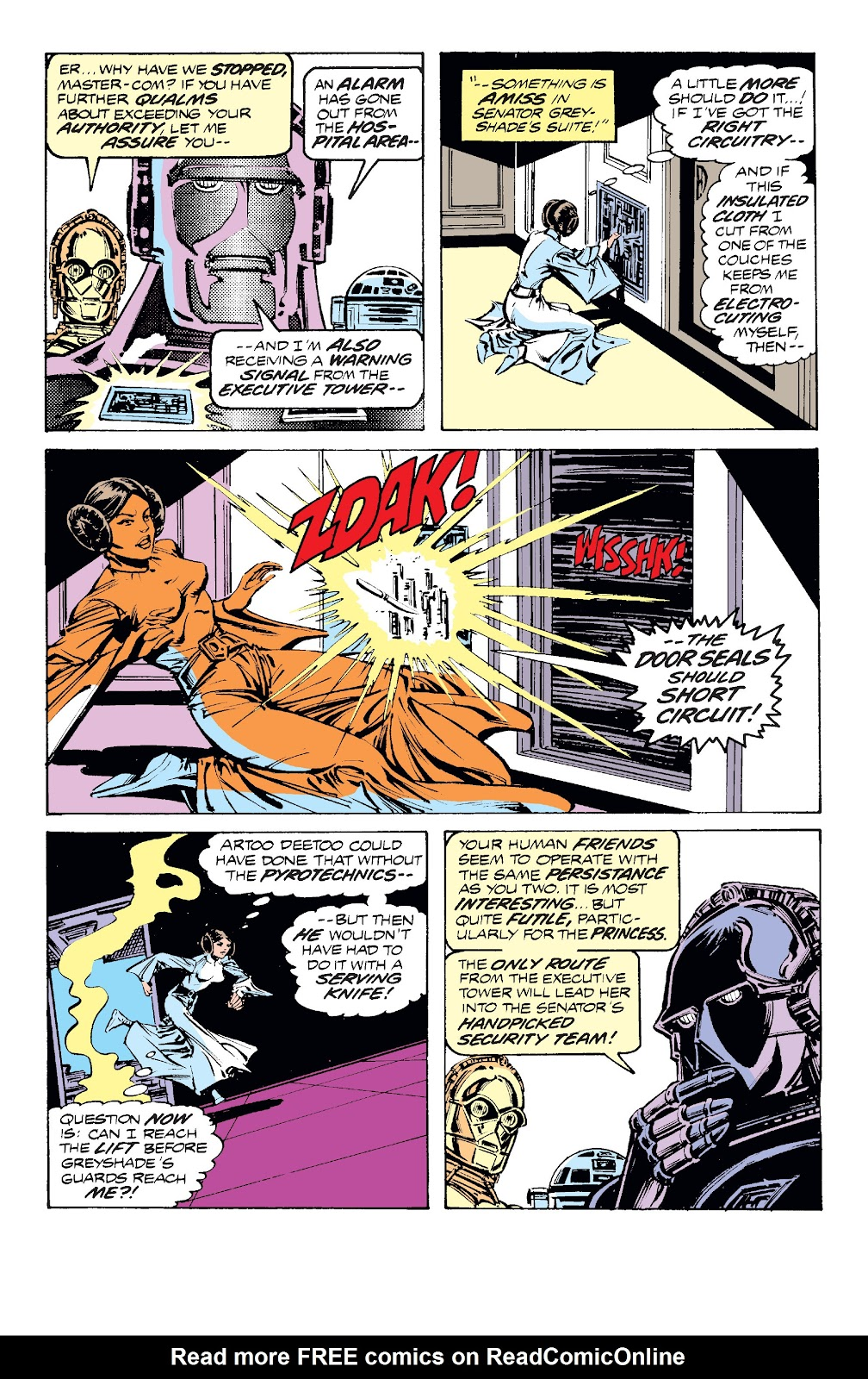 Read online Star Wars Legends: The Original Marvel Years - Epic Collection comic -  Issue # TPB 1 (Part 4) - 64