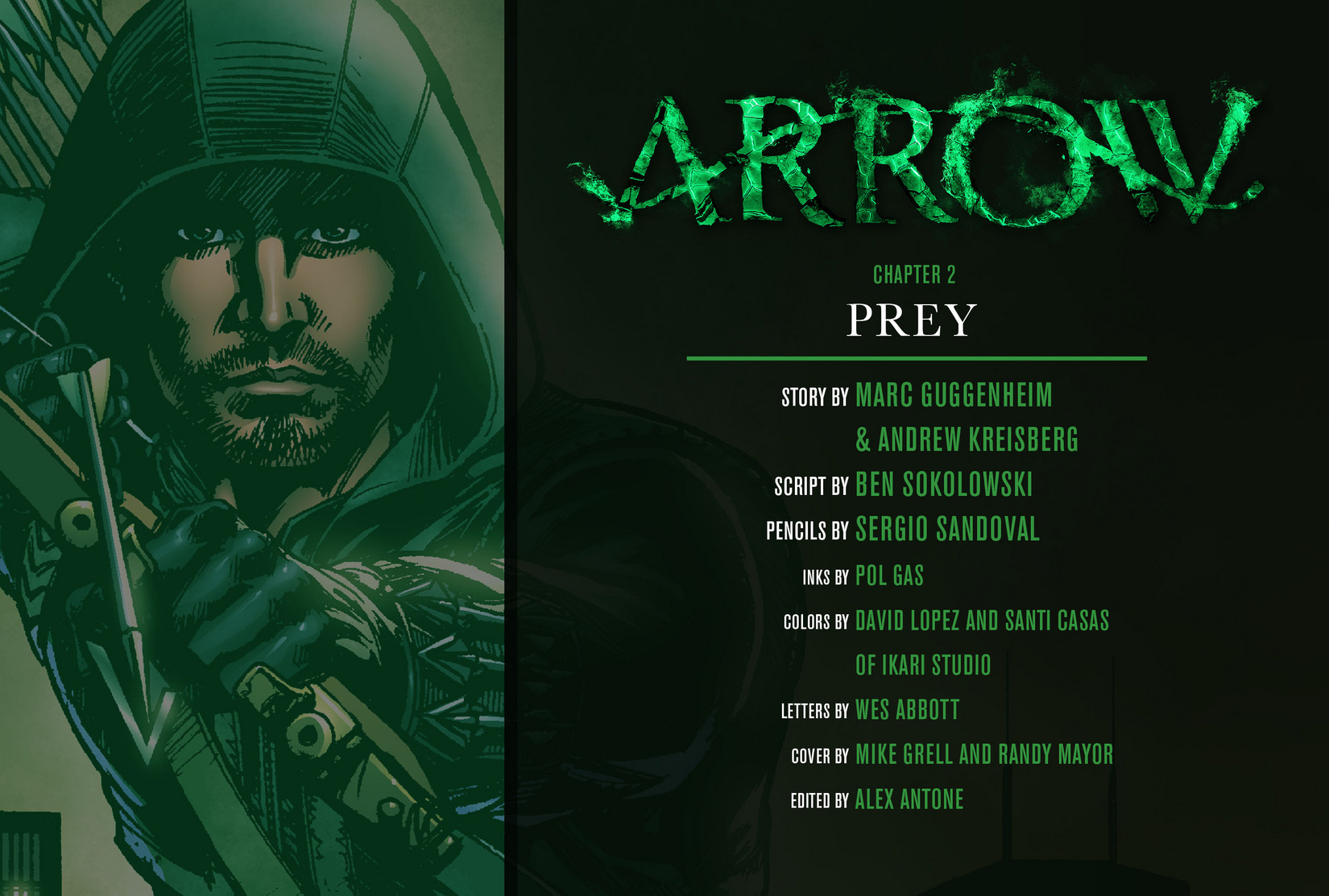 Read online Arrow [II] comic -  Issue #2 - 2