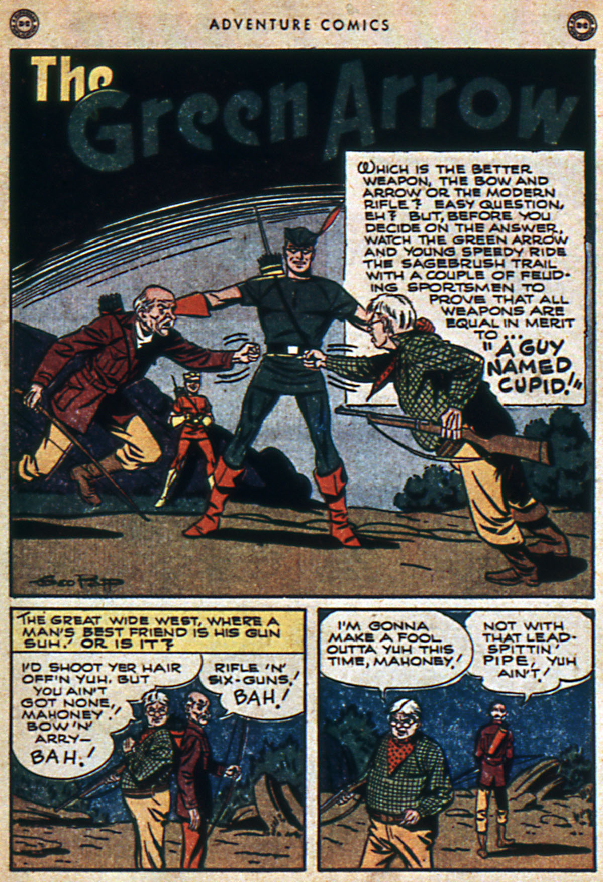 Read online Adventure Comics (1938) comic -  Issue #112 - 11
